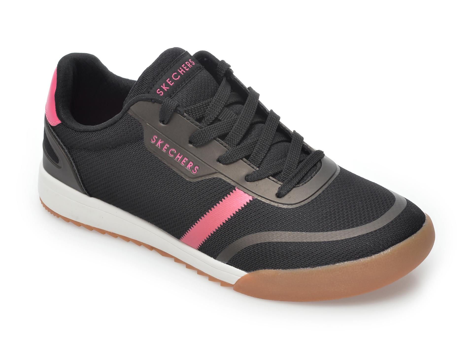 Pantofi Sport Skechers Negri, Zinger 2.0 Pearlescent Path, Din Material Textil