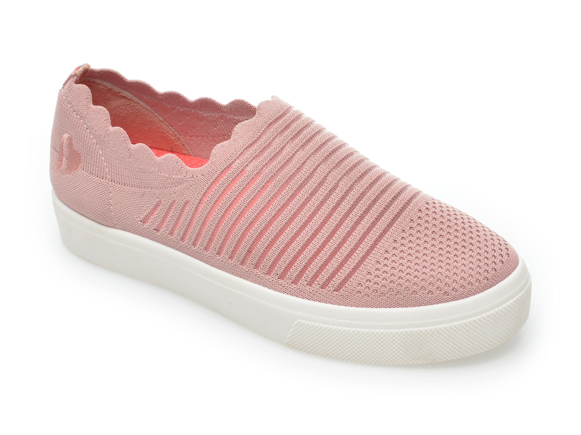 Pantofi sport SKECHERS roz, Poppy Breezy Street, din material textil New