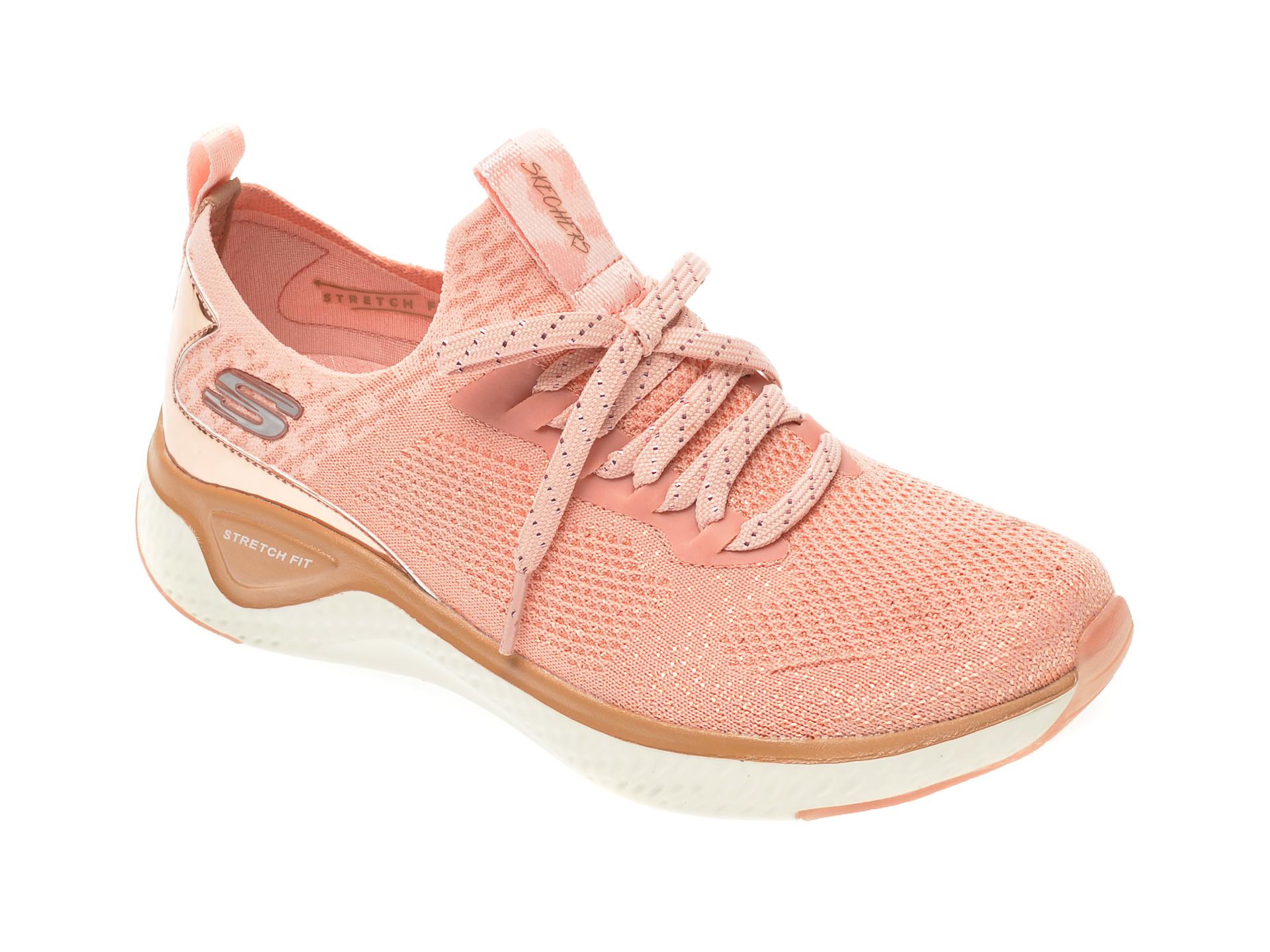 Pantofi sport SKECHERS roz, Solar Fuse, din material textil imagine
