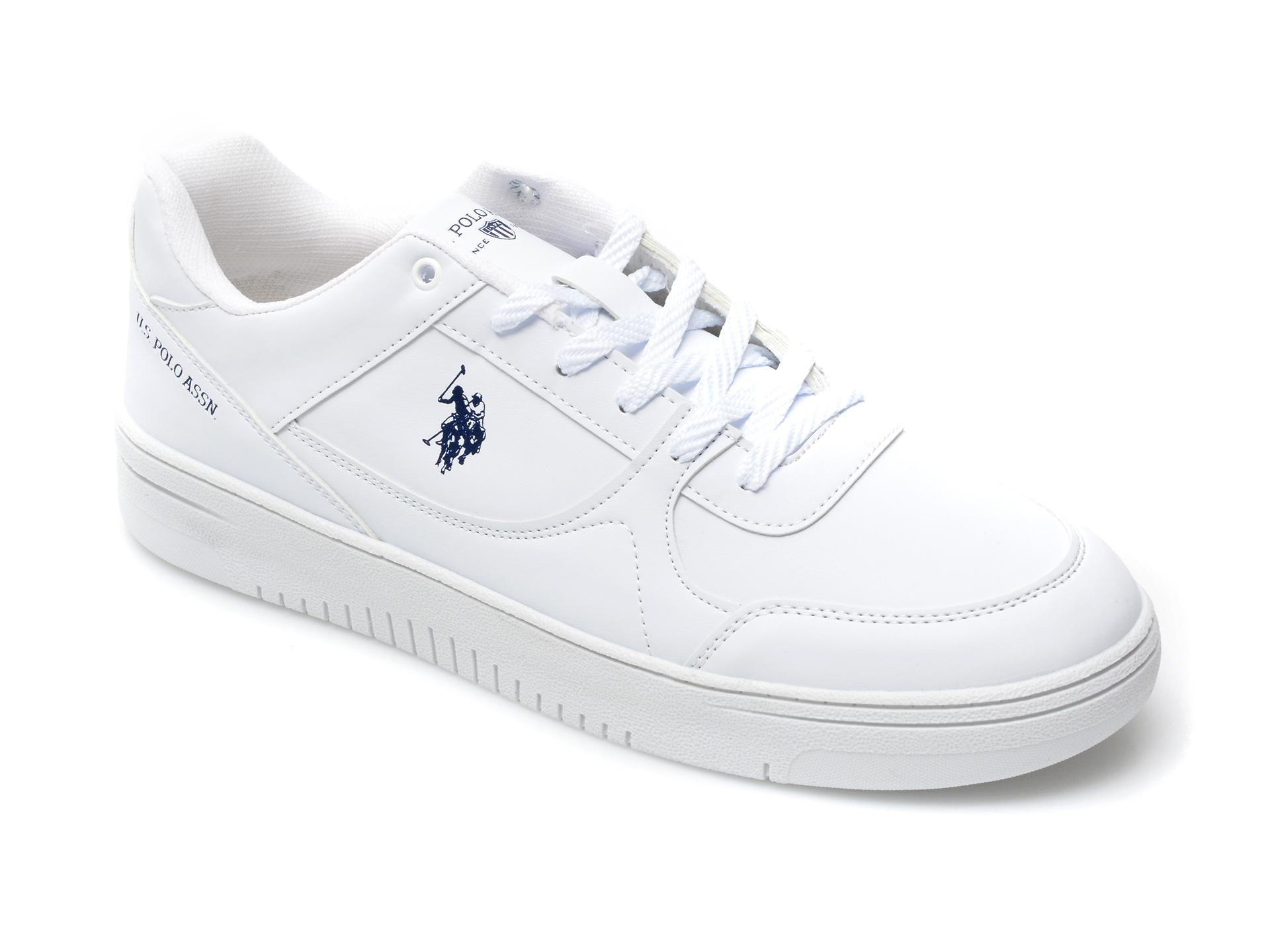 Pantofi Sport Us Polo Assn Albi, Lee, Din Piele Ecologica