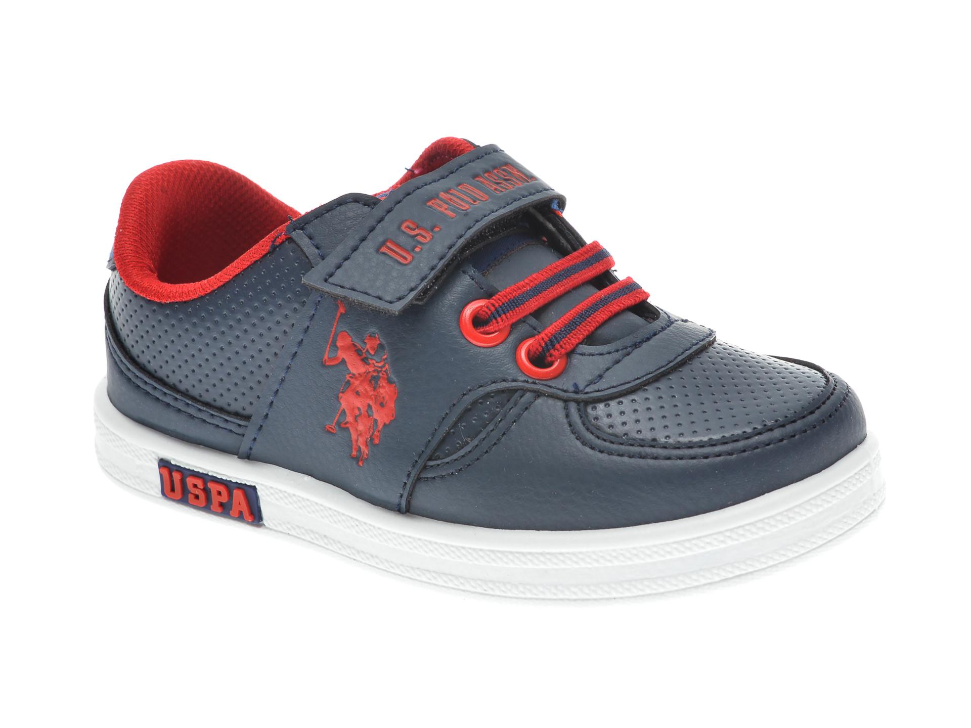 Pantofi sport US POLO ASSN bleumarin, 241650, din piele ecologica imagine