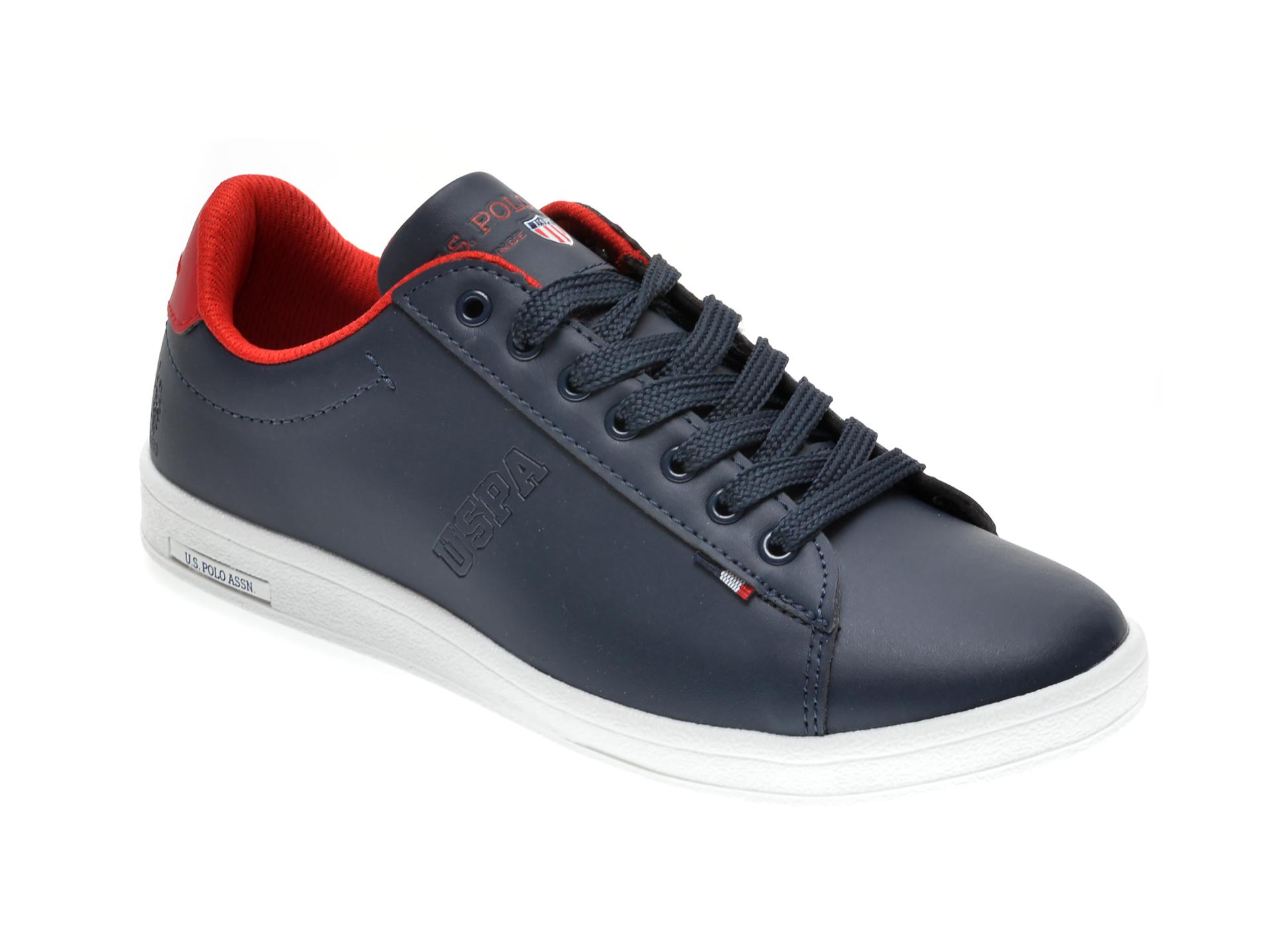 Pantofi sport US POLO ASSN bleumarin, 249590, din piele ecologica