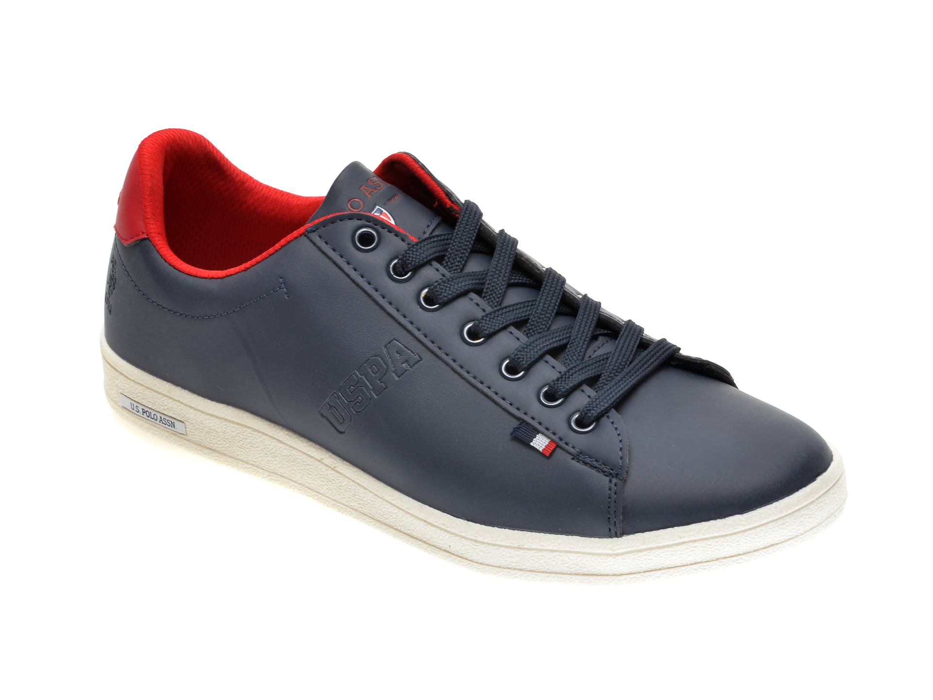 Pantofi sport US POLO ASSN bleumarin, 249745, din piele ecologica imagine