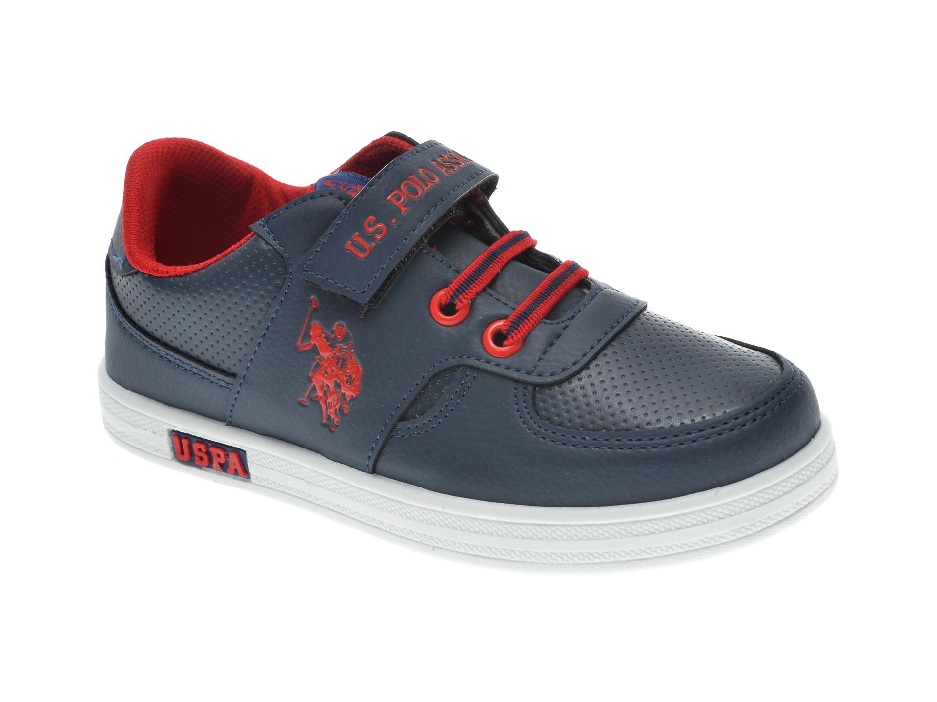 Pantofi sport US POLO ASSN bleumarin, 380402, din piele ecologica imagine