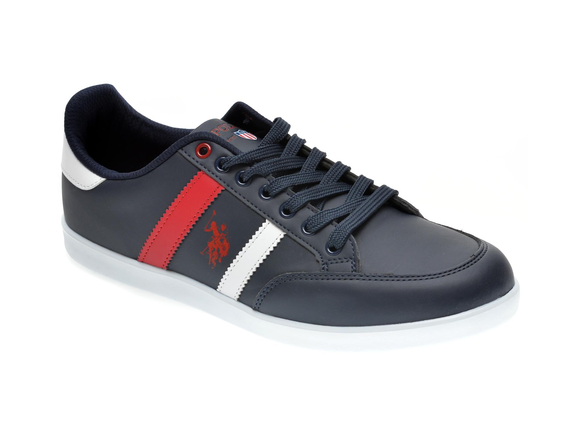 Pantofi sport US POLO ASSN bleumarin, 418119, din piele ecologica imagine
