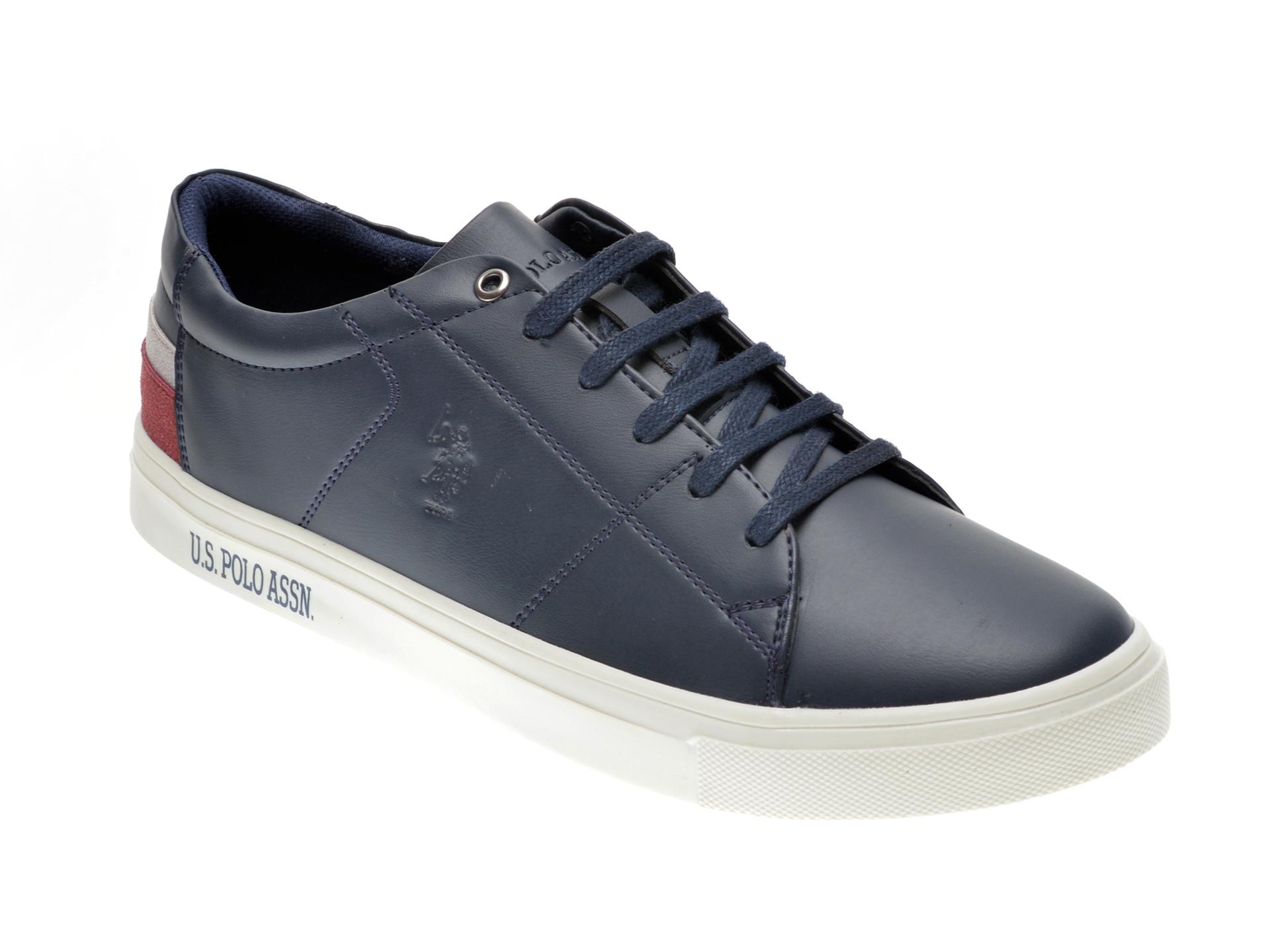 Pantofi sport US POLO ASSN bleumarin, 422447, din piele ecologica imagine
