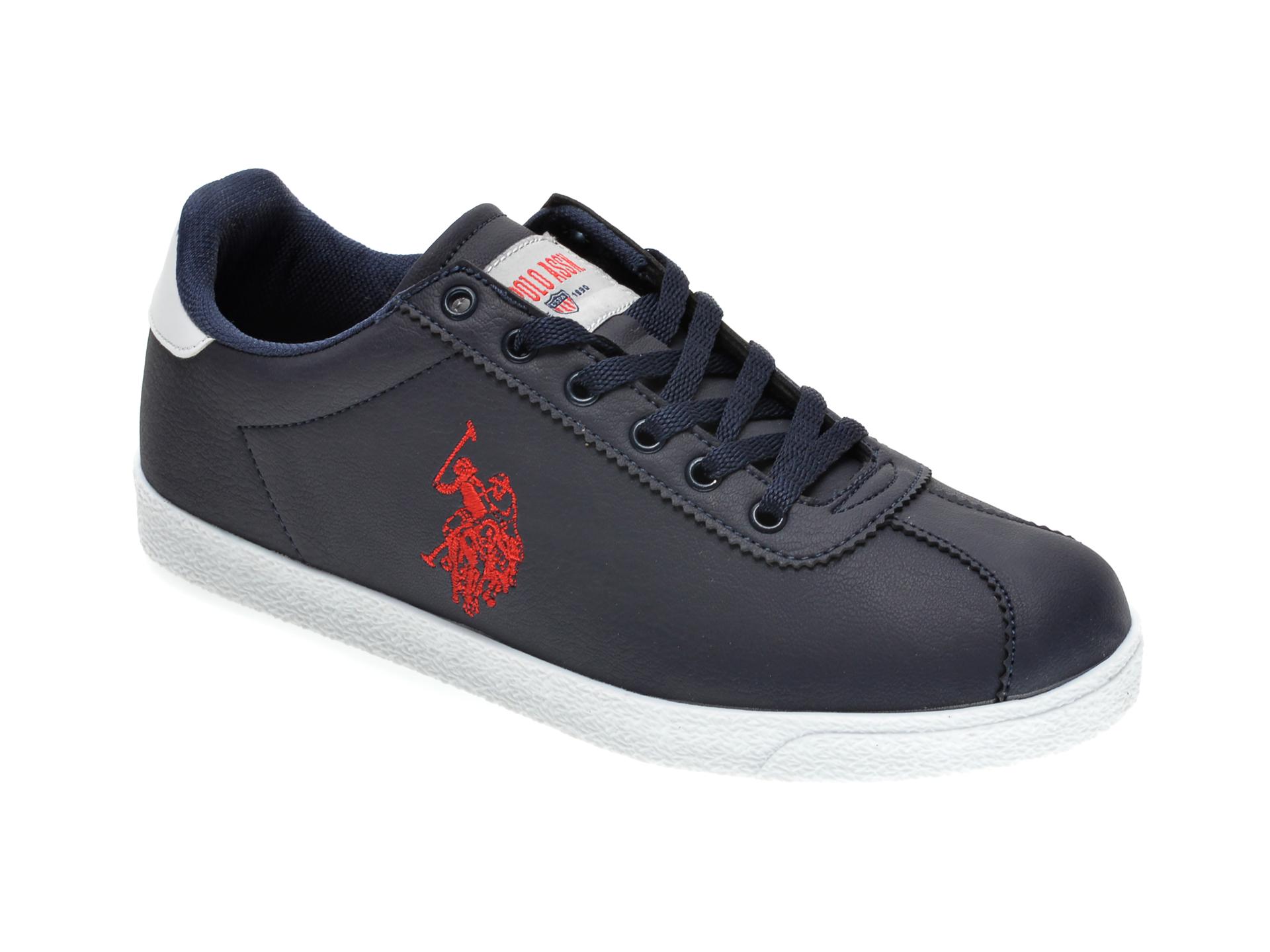 Pantofi sport US POLO ASSN bleumarin, 422466, din piele ecologica New