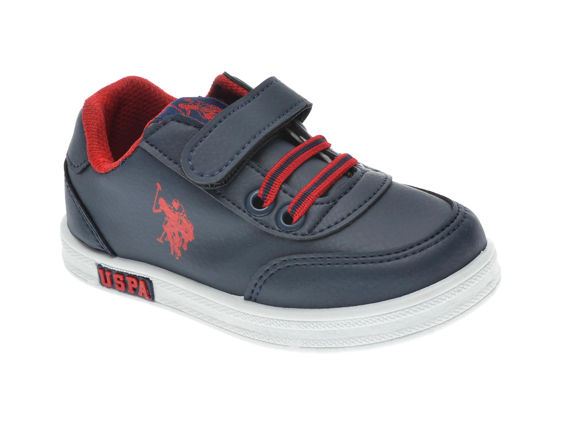 Pantofi sport US POLO ASSN bleumarin, 429345, din piele ecologica imagine