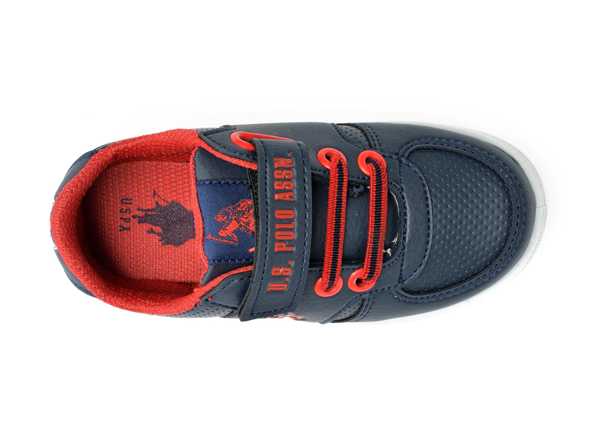 Pantofi sport US POLO ASSN bleumarin, CAME1FX, din piele ecologica - 6