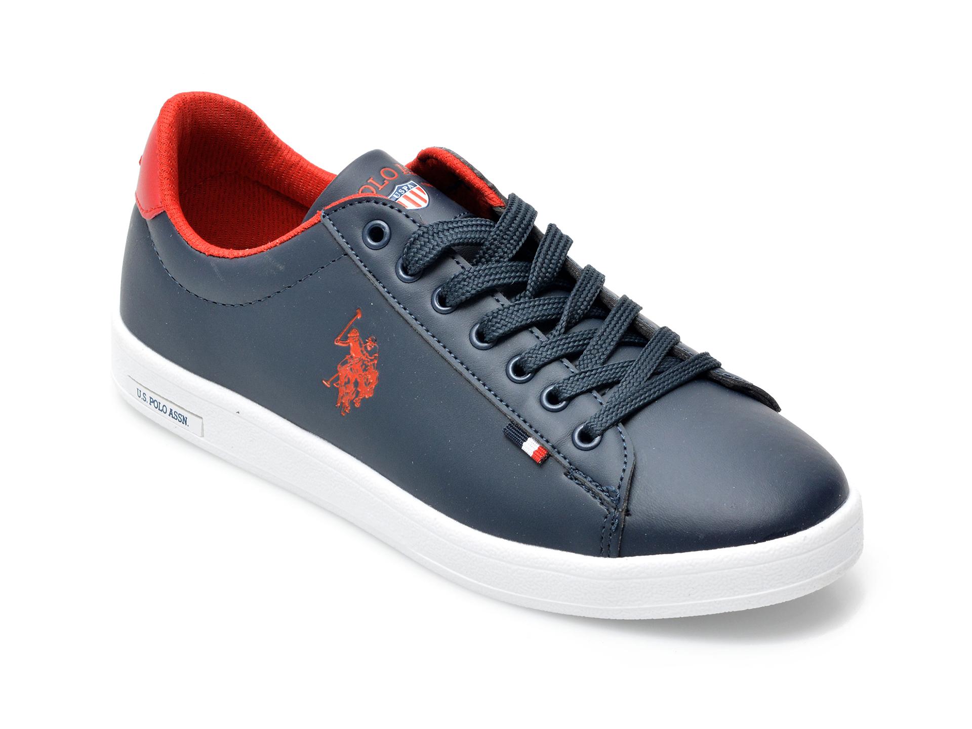 Pantofi sport US POLO ASSN bleumarin, FRAWM1F, din piele ecologica imagine otter.ro 2021