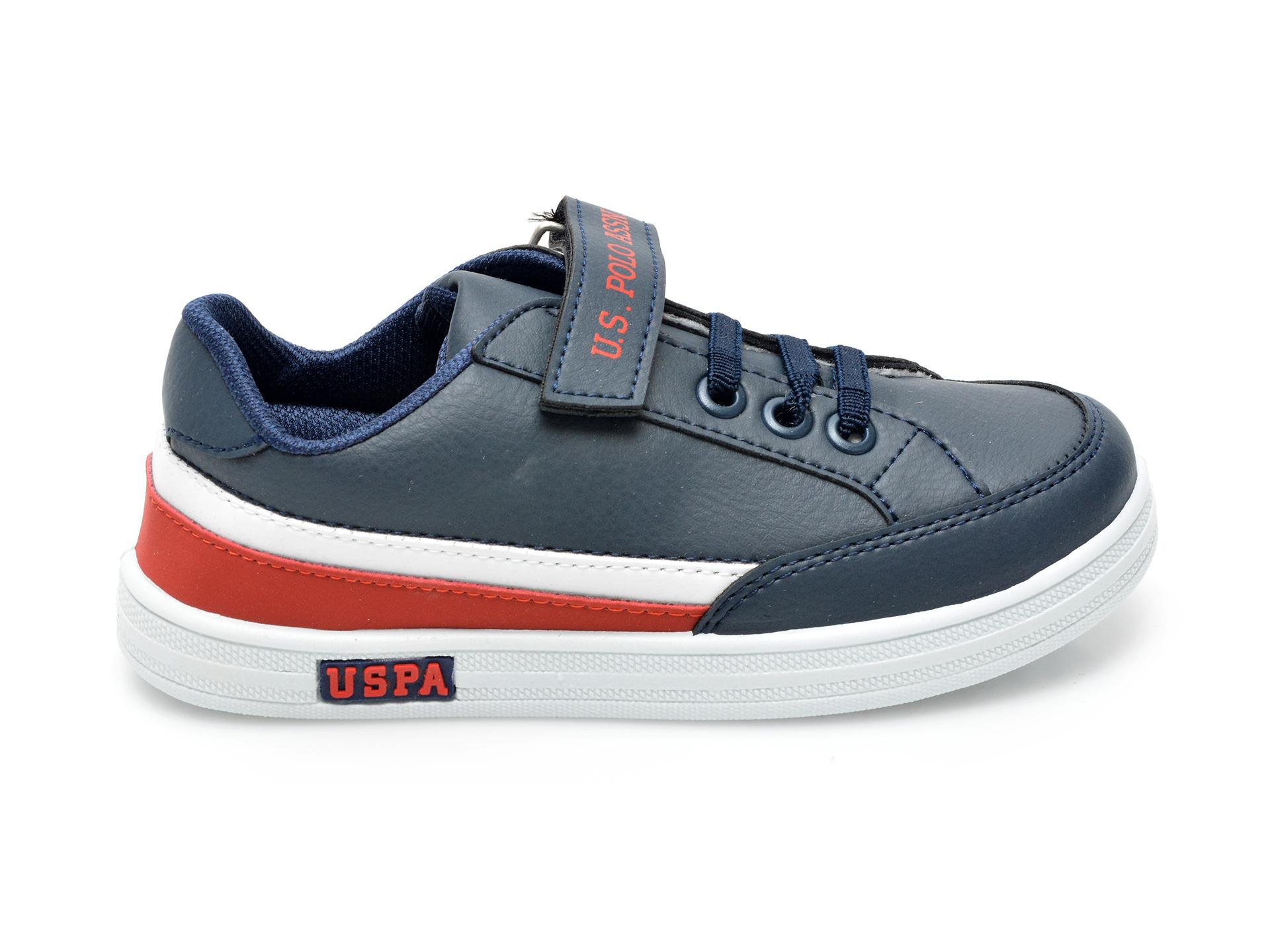 Pantofi sport US POLO ASSN bleumarin, JAMA1FX, din piele ecologica - 1