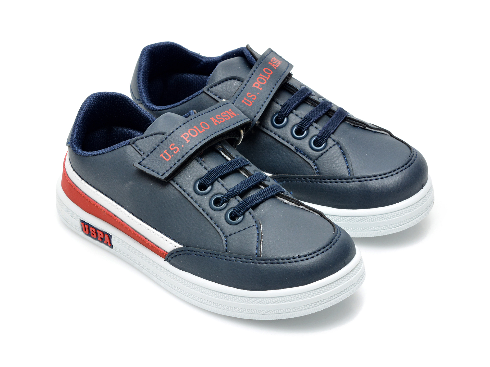 Pantofi sport US POLO ASSN bleumarin, JAMA1FX, din piele ecologica - 4