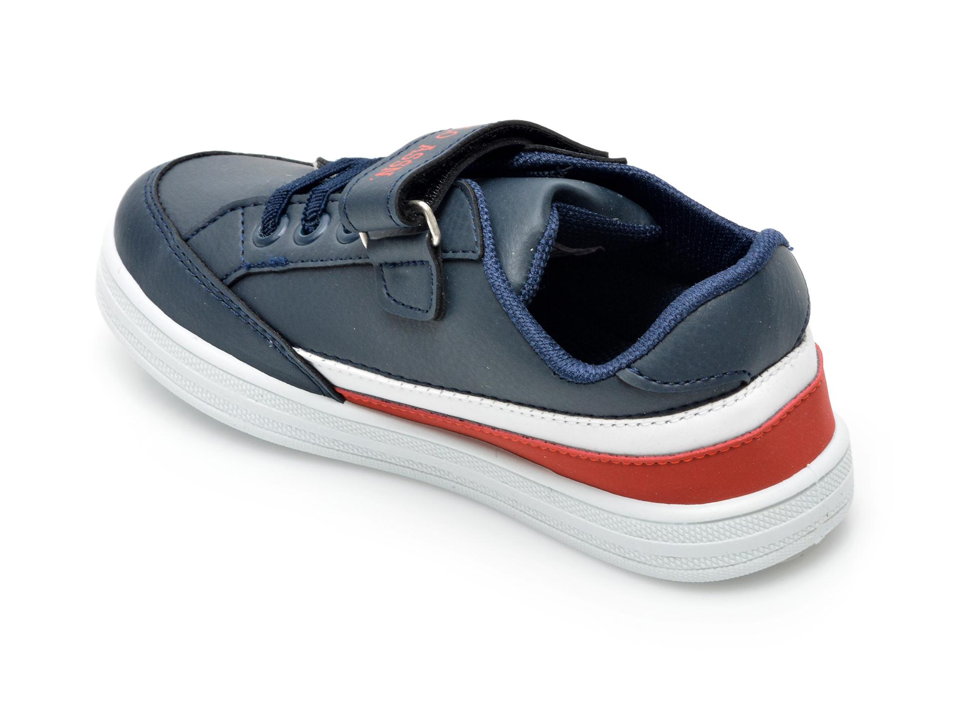 Pantofi sport US POLO ASSN bleumarin, JAMA1FX, din piele ecologica - 5