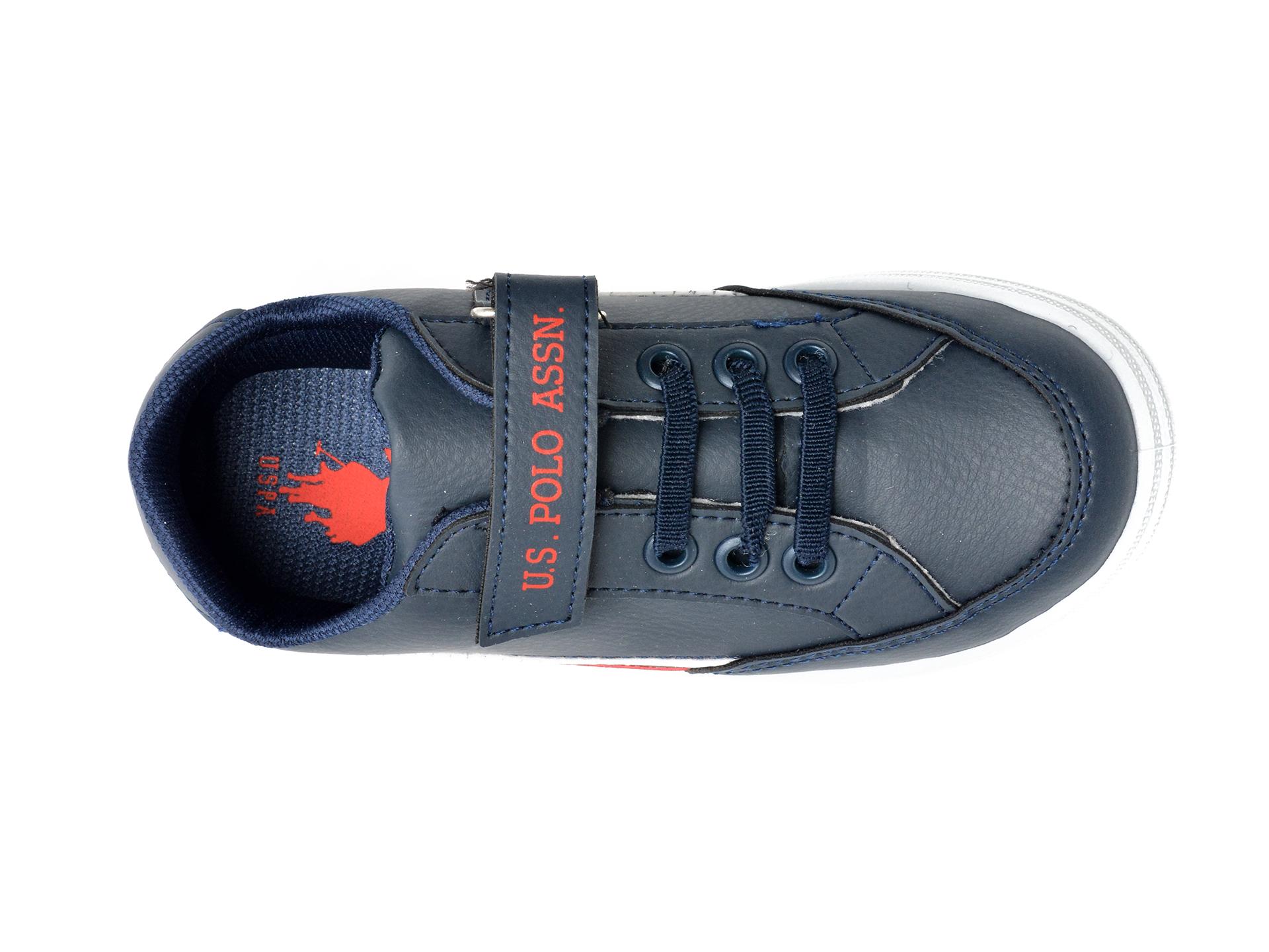 Pantofi sport US POLO ASSN bleumarin, JAMA1FX, din piele ecologica - 6