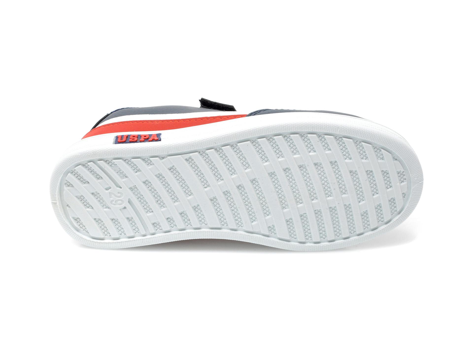 Pantofi sport US POLO ASSN bleumarin, JAMA1FX, din piele ecologica - 7