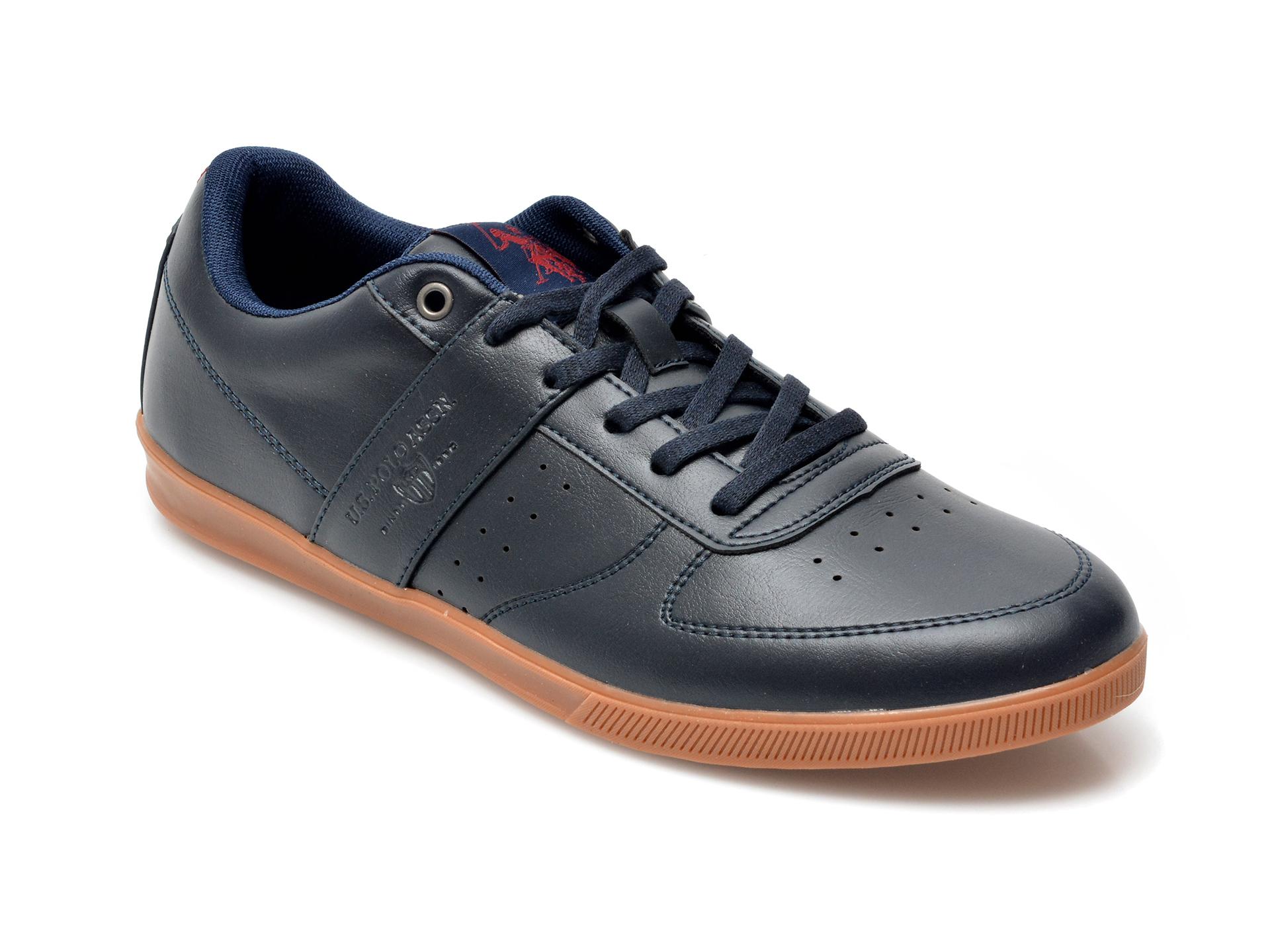 Pantofi sport US POLO ASSN bleumarin, LEGE1FX, din piele ecologica imagine otter.ro