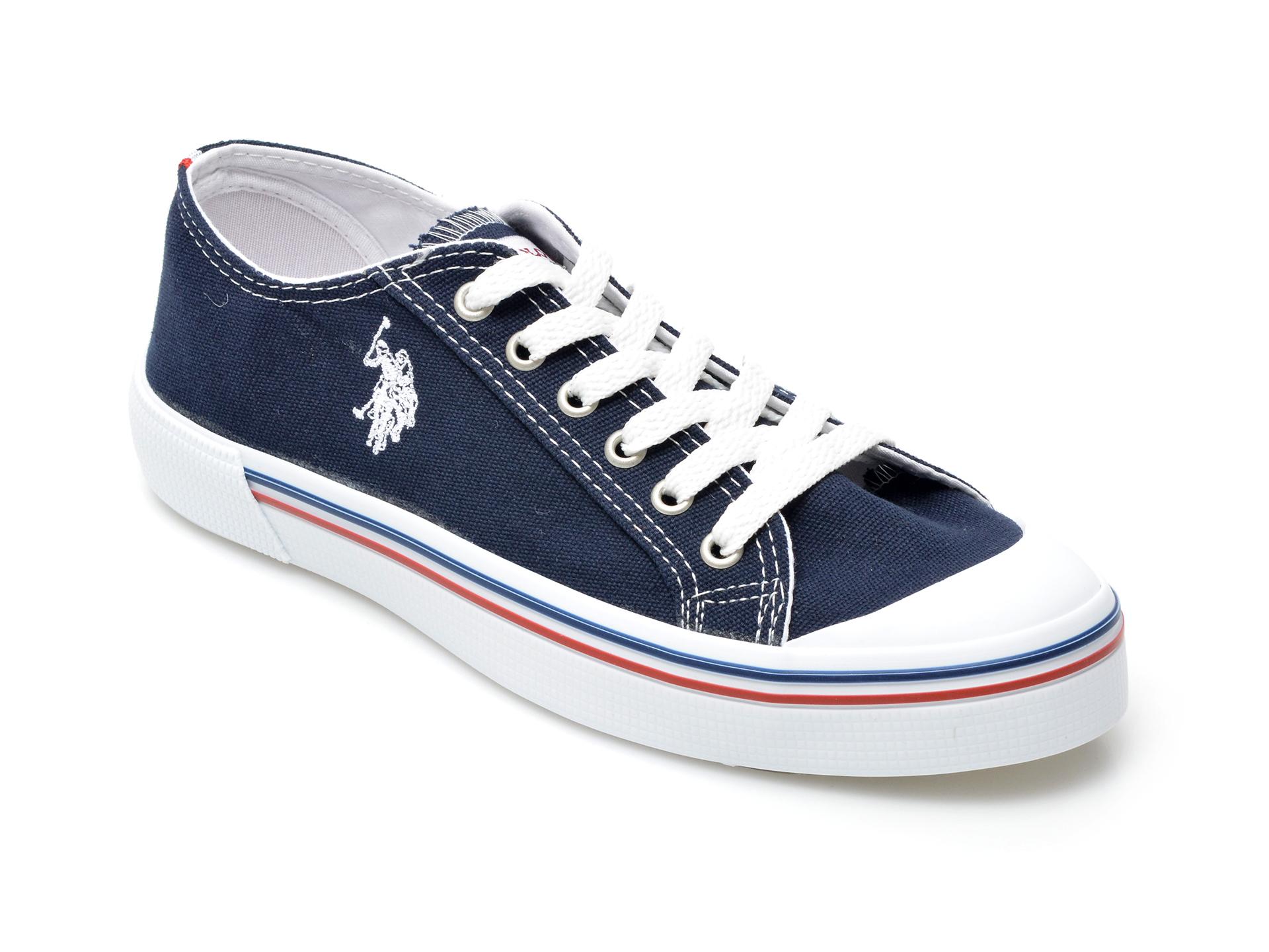 Pantofi sport US POLO ASSN bleumarin, PENE1FX, din material textil imagine otter.ro 2021