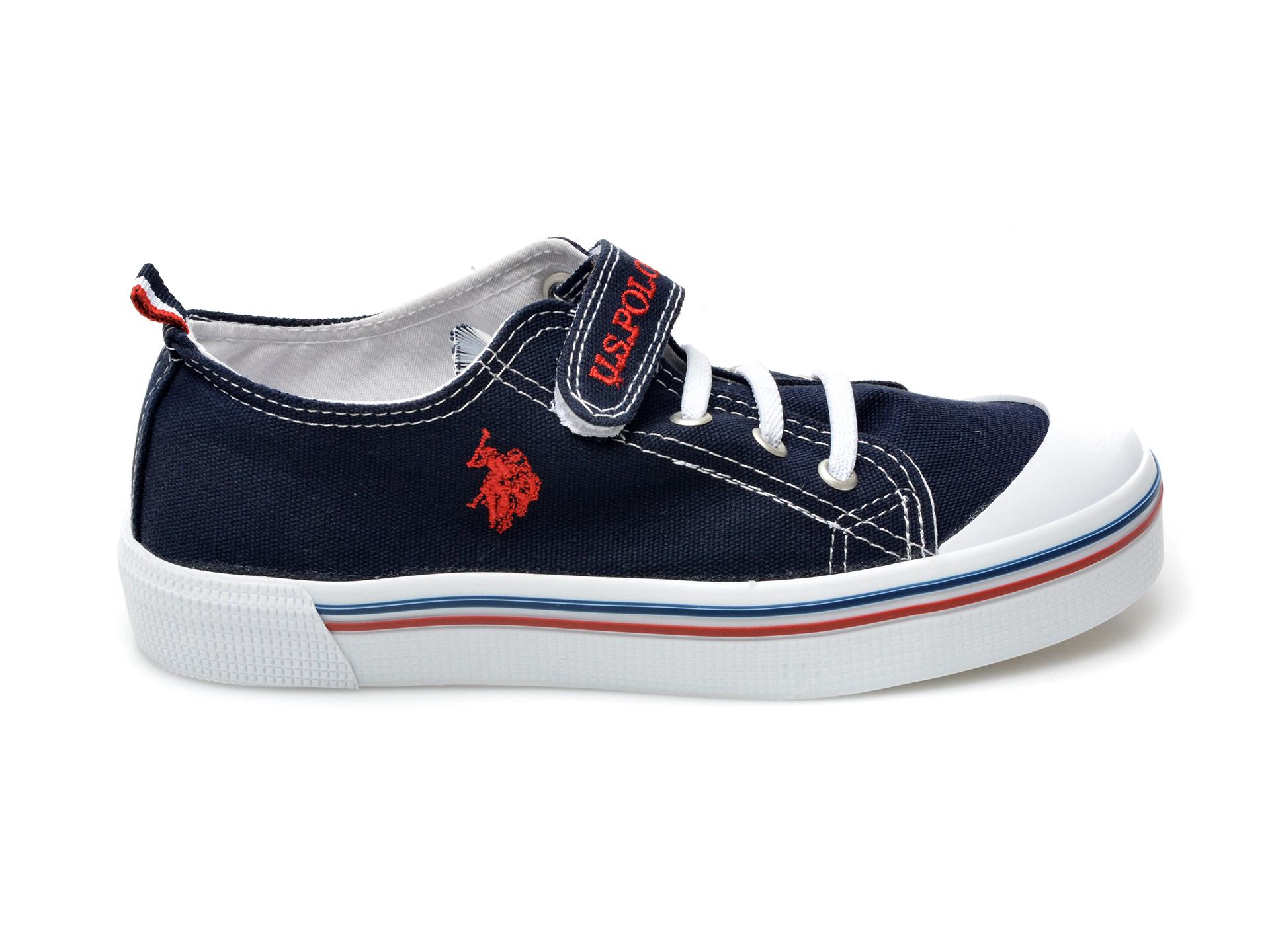 Pantofi sport US POLO ASSN bleumarin, PENEL1F, din material textil - 1