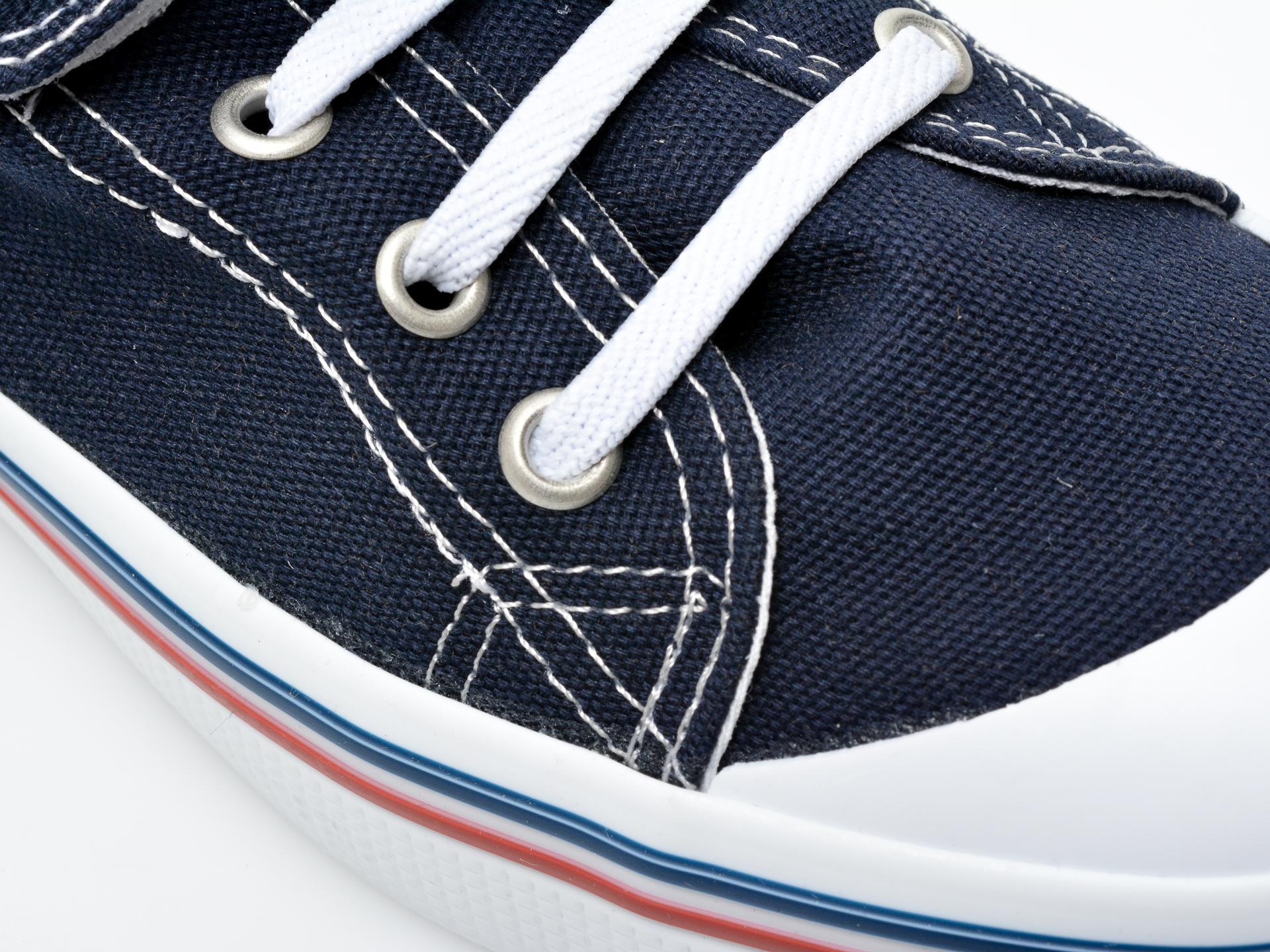 Pantofi sport US POLO ASSN bleumarin, PENEL1F, din material textil - 2