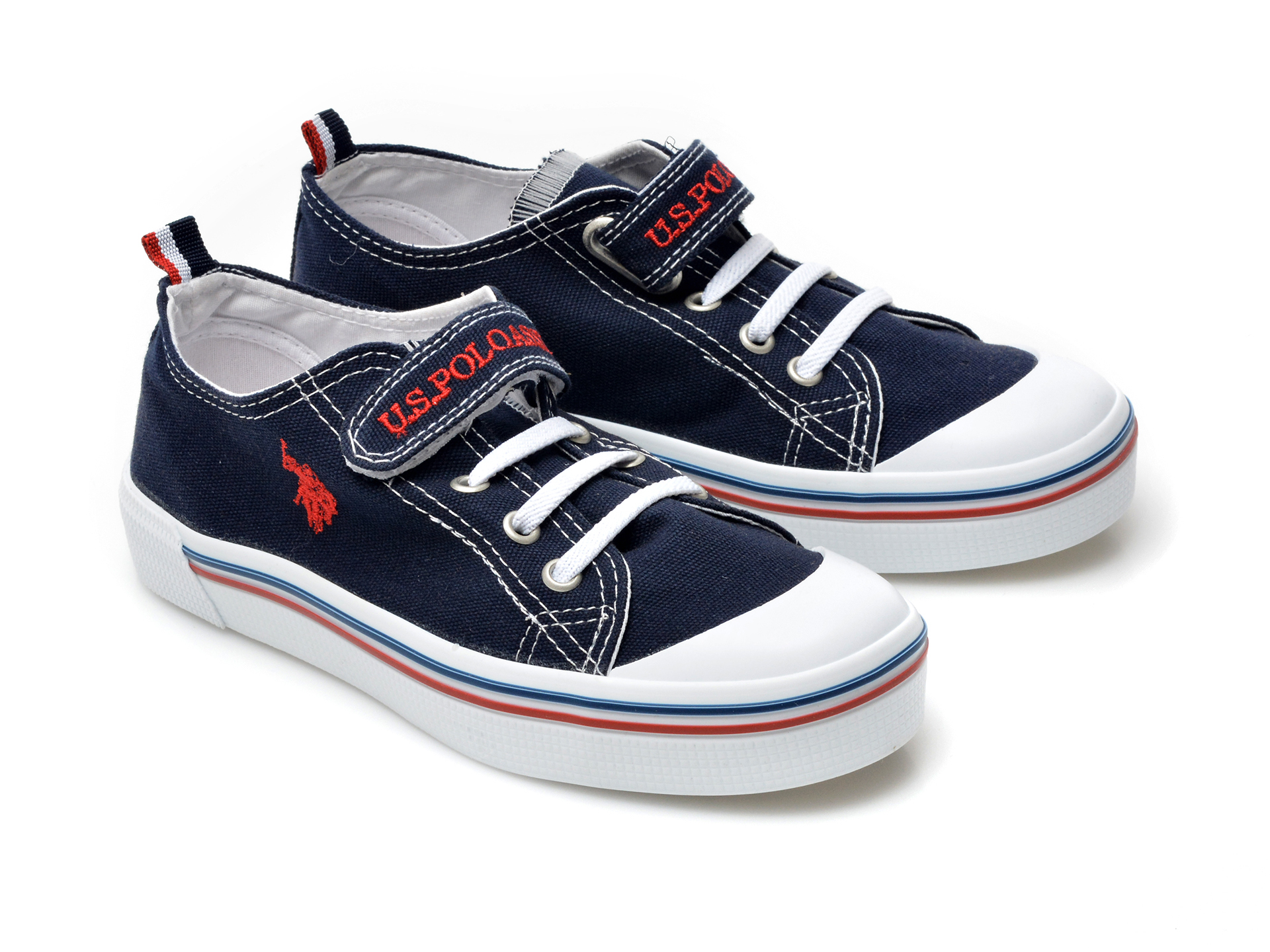 Pantofi sport US POLO ASSN bleumarin, PENEL1F, din material textil - 4