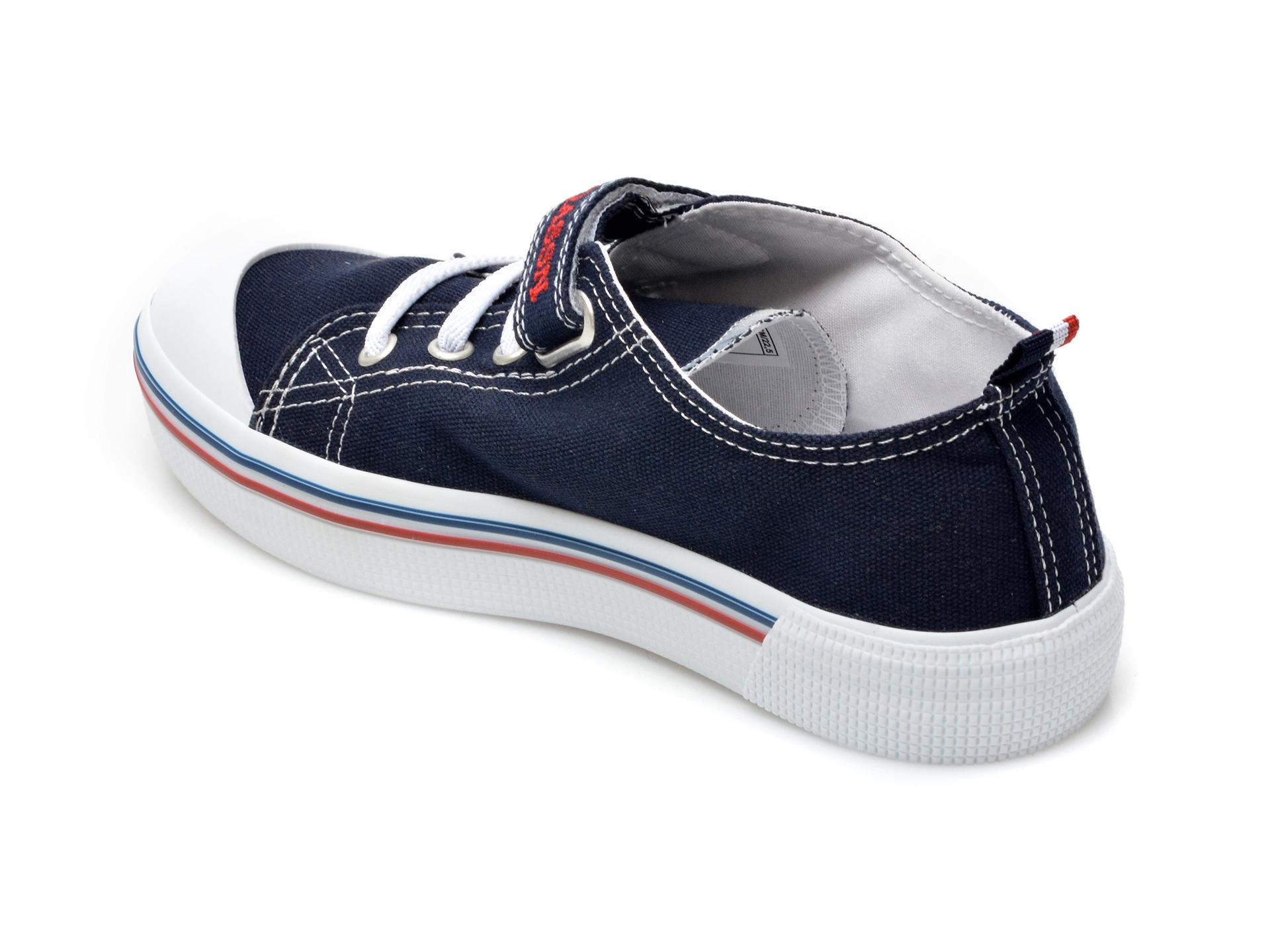 Pantofi sport US POLO ASSN bleumarin, PENEL1F, din material textil - 5