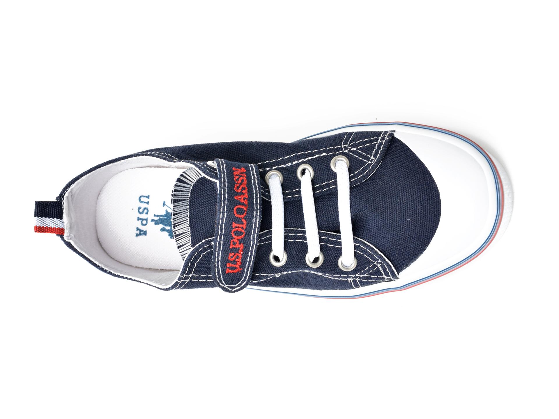 Pantofi sport US POLO ASSN bleumarin, PENEL1F, din material textil - 6