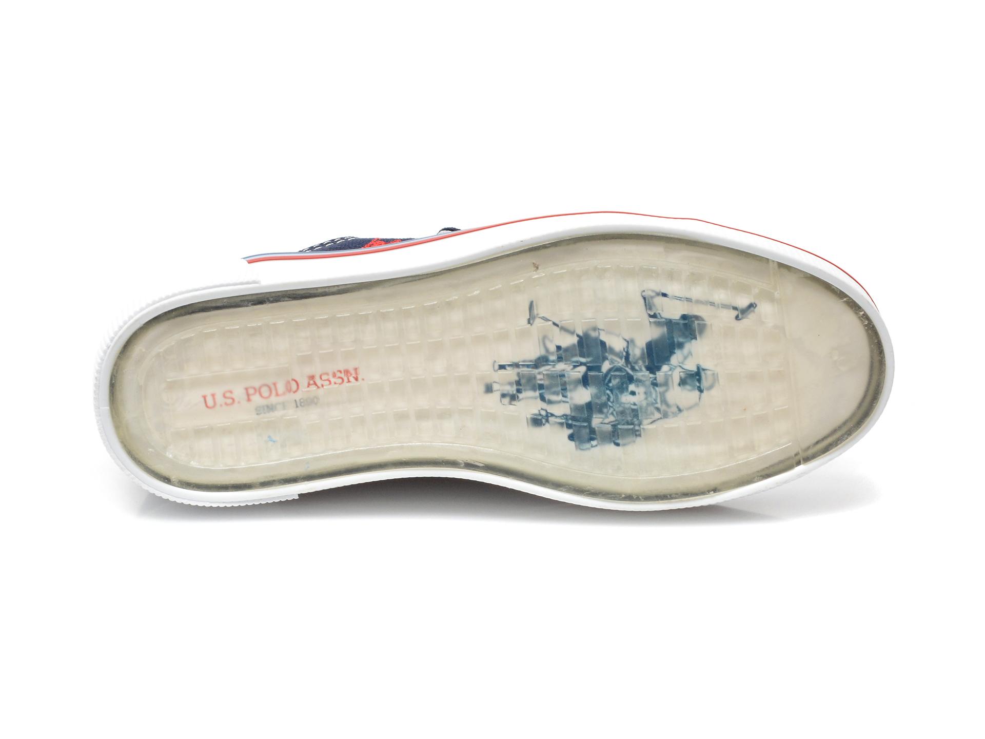 Pantofi sport US POLO ASSN bleumarin, PENEL1F, din material textil - 7
