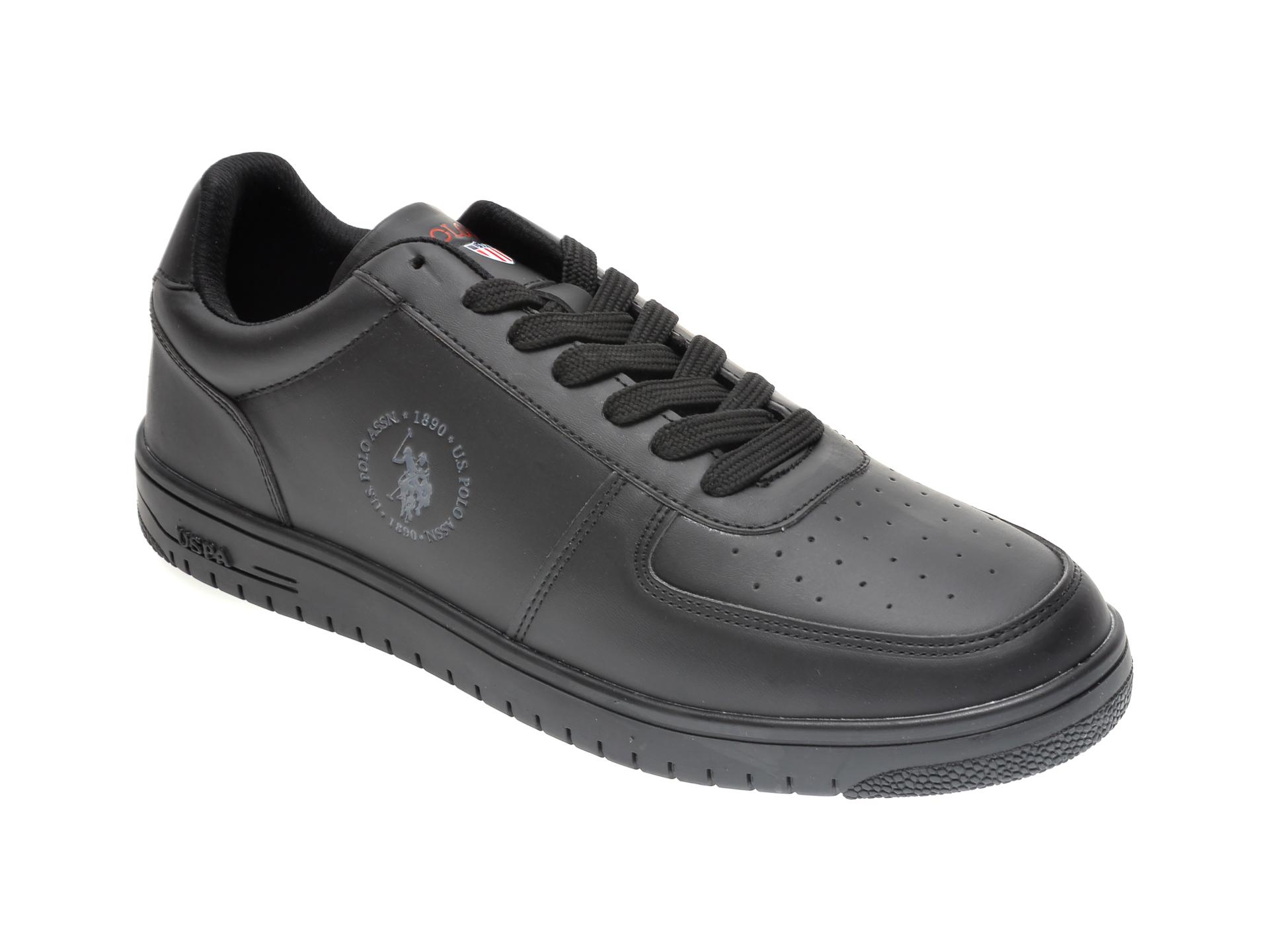 Pantofi sport US POLO ASSN negri, 281470, din piele ecologica imagine