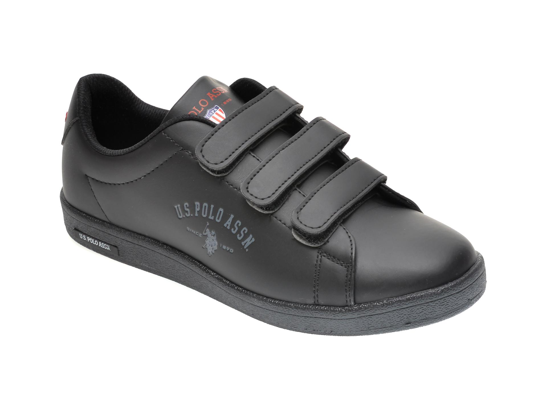 Pantofi sport US POLO ASSN negri, 486446, din piele ecologica imagine otter.ro