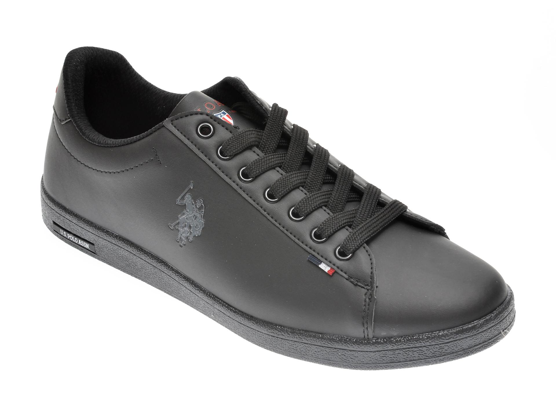Pantofi sport US POLO ASSN negri, 548977, din piele ecologica imagine