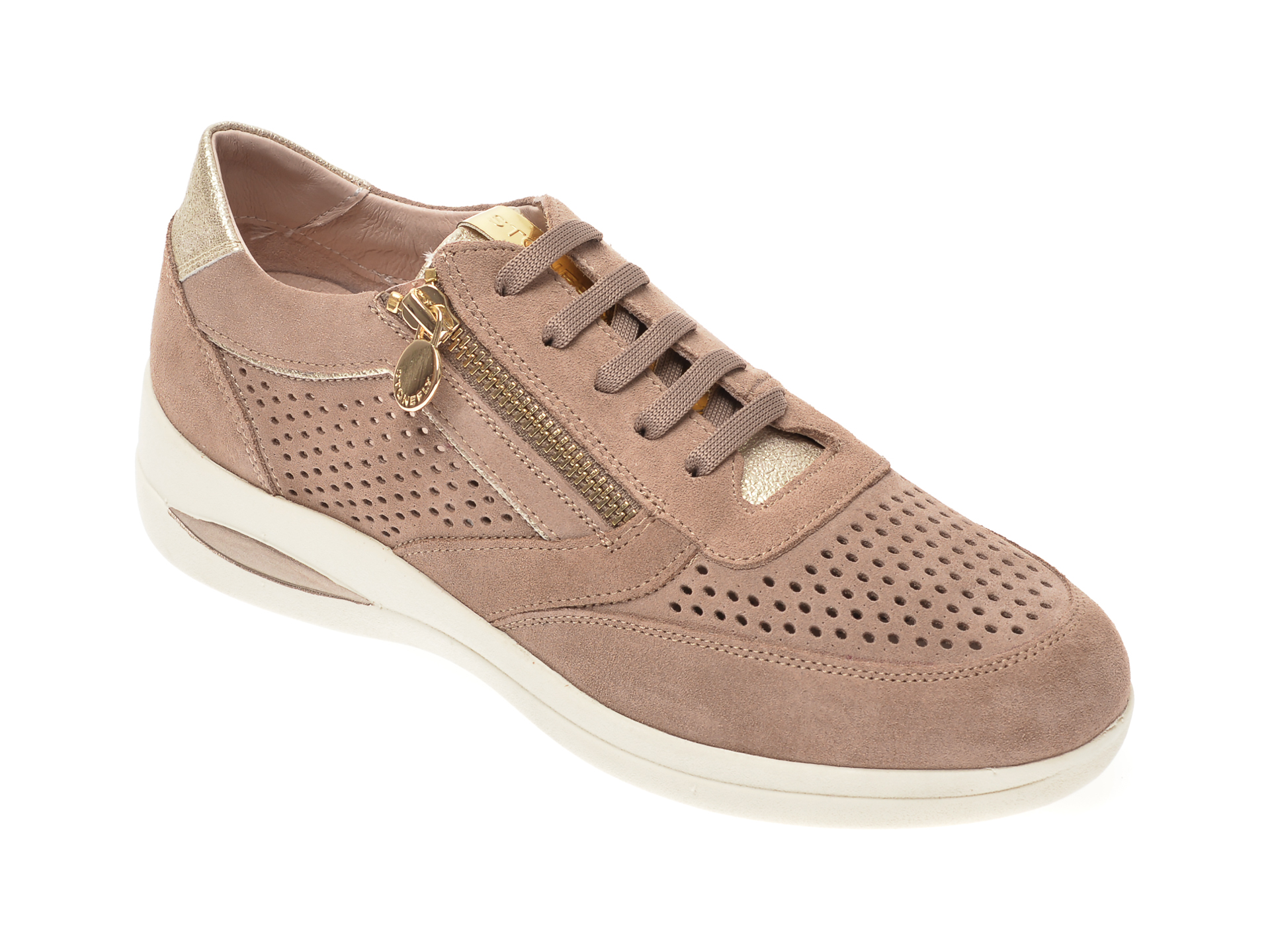 Pantofi STONEFLY maro, AURORA5, din piele intoarsa imagine