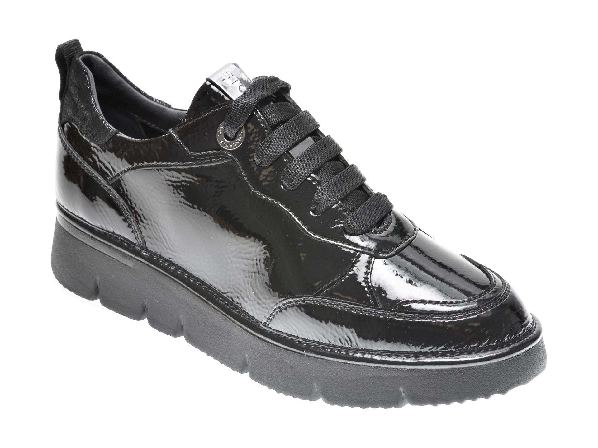 Pantofi STONEFLY negri, ELILAD5, din piele ecologica imagine