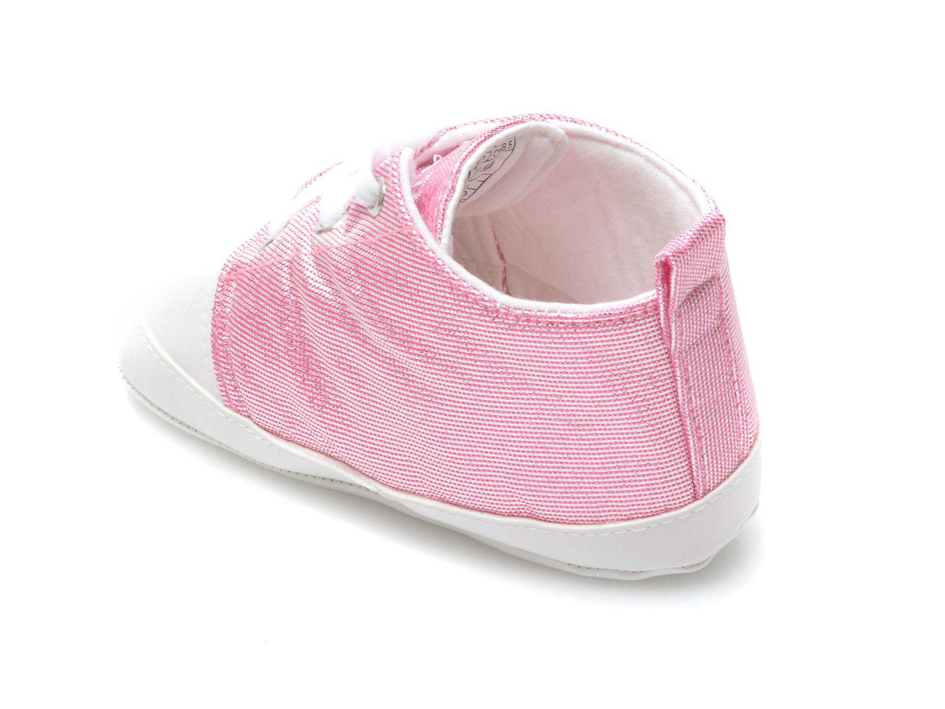 Pantofi US POLO ASSN roz, LICK1FX, din material textil - 5