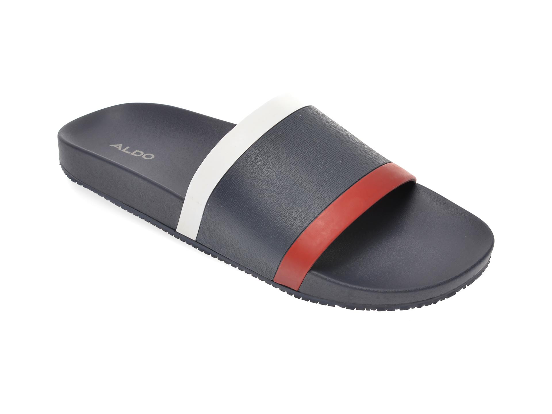 Papuci ALDO bleumarin, Bralelian410, din piele ecologica imagine