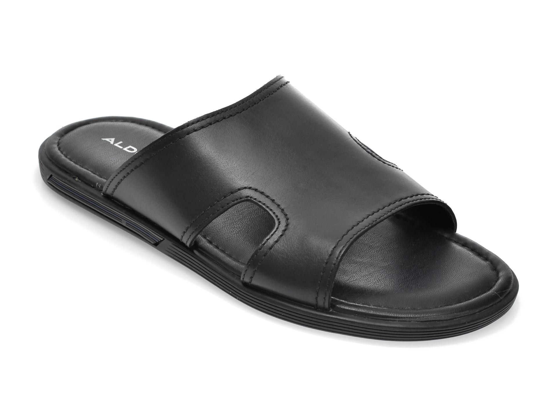 Papuci ALDO negri, Sevoewien001, din piele naturala imagine