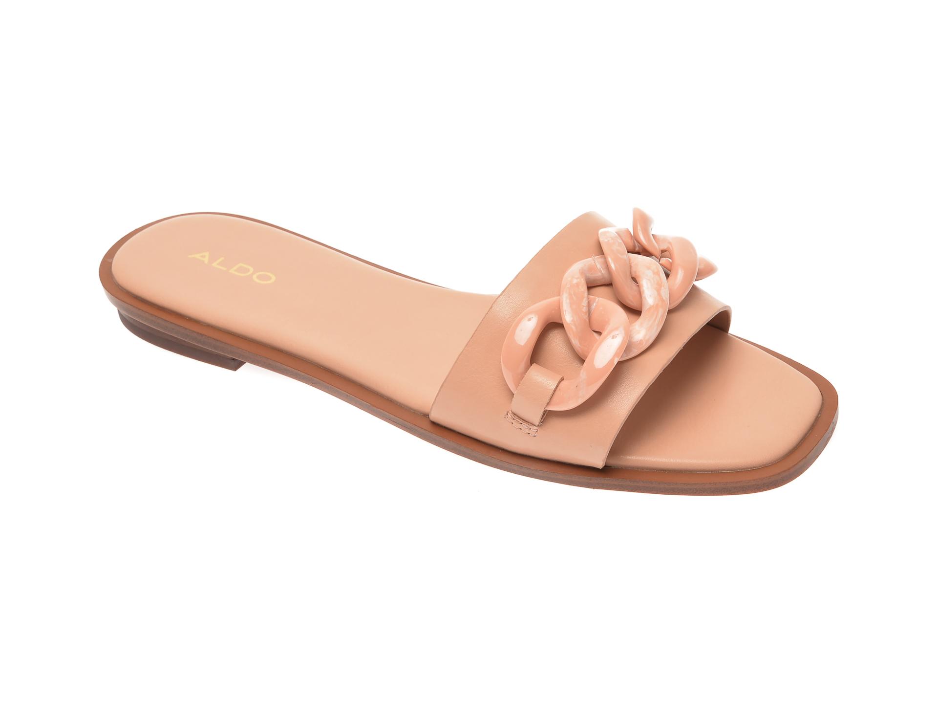 Papuci ALDO nude, Jubel270, din piele ecologica imagine otter.ro