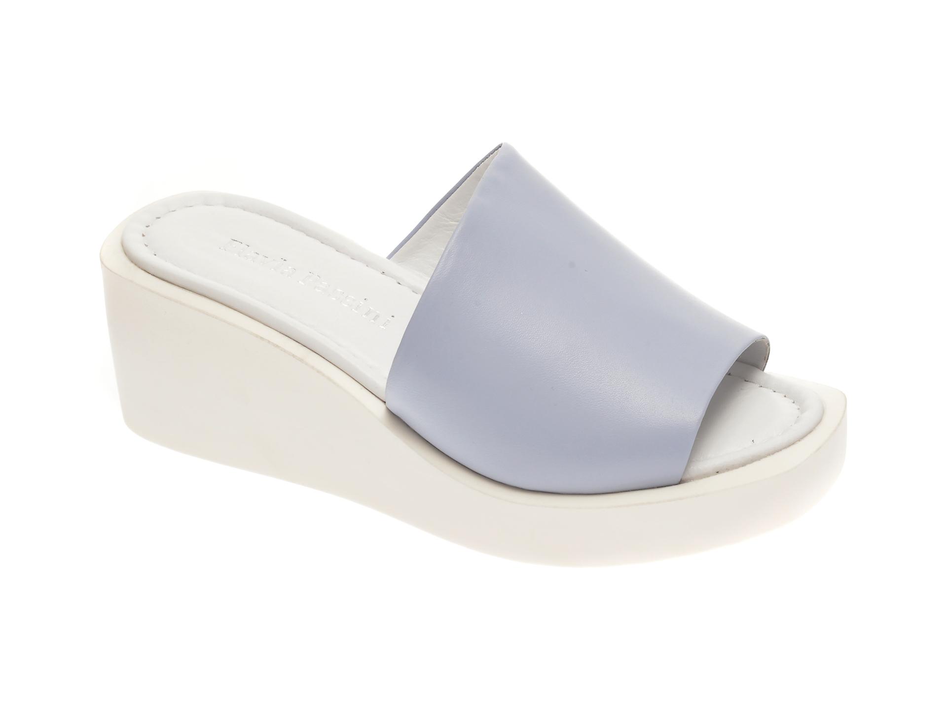 Papuci FLAVIA PASSINI albastri, 1182679, din piele naturala