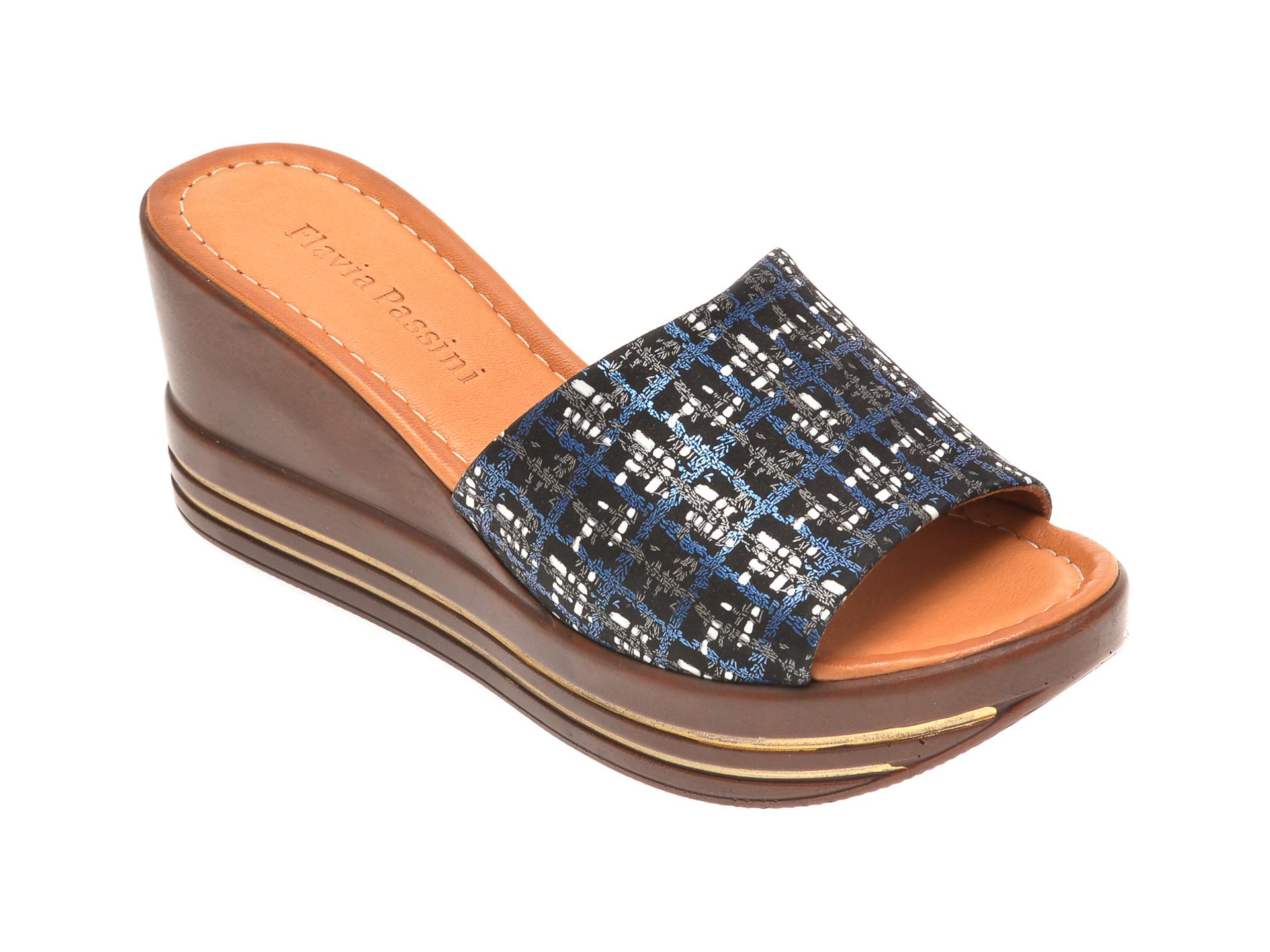 Papuci FLAVIA PASSINI multicolori, 1181513, din piele naturala