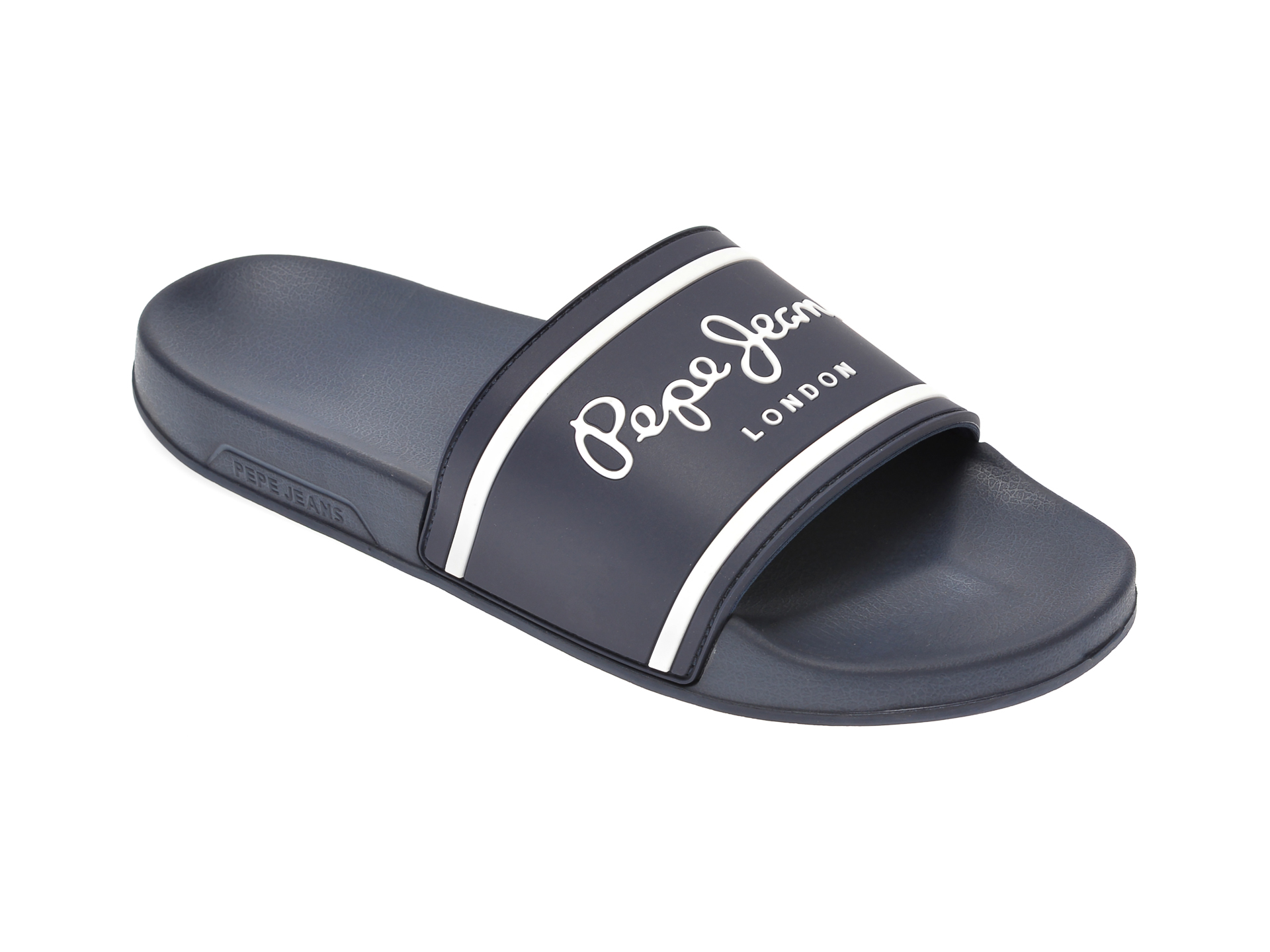 Papuci PEPE JEANS bleumarin, MS70079, din pvc imagine