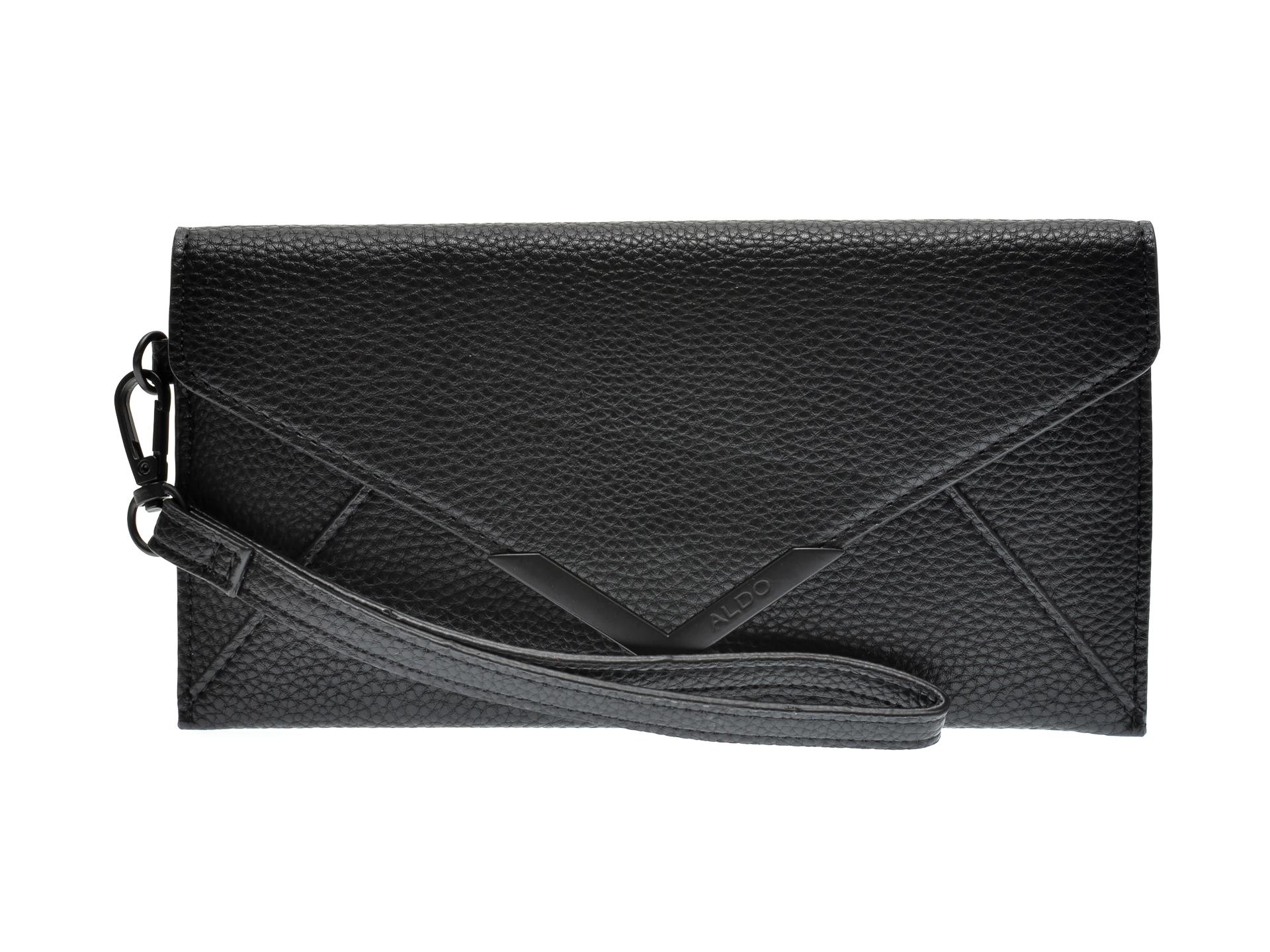 Portofel ALDO negru, Elizabeta007, din piele ecologica imagine