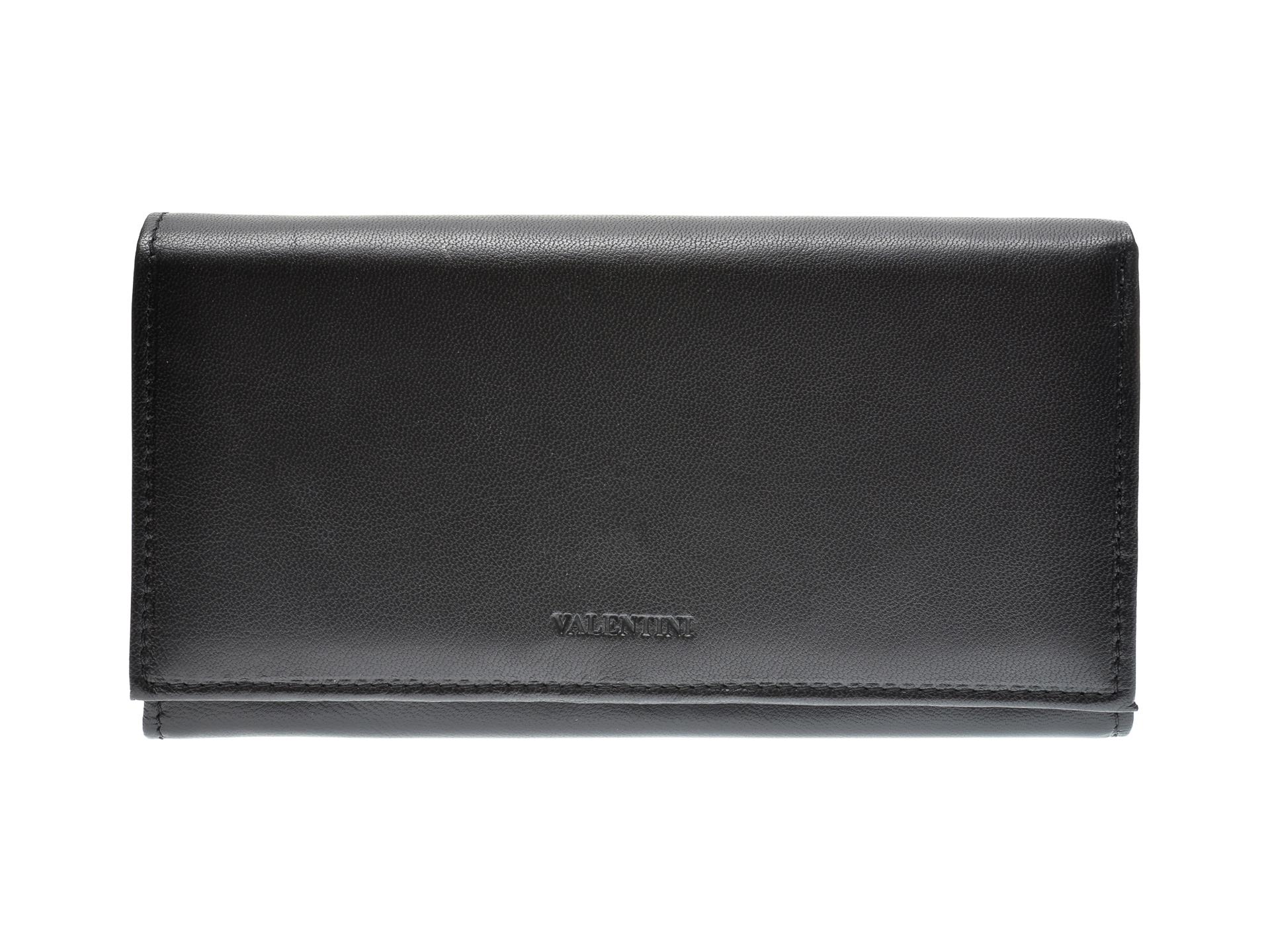 Portofel EPICA negru, A306895, din piele naturala imagine