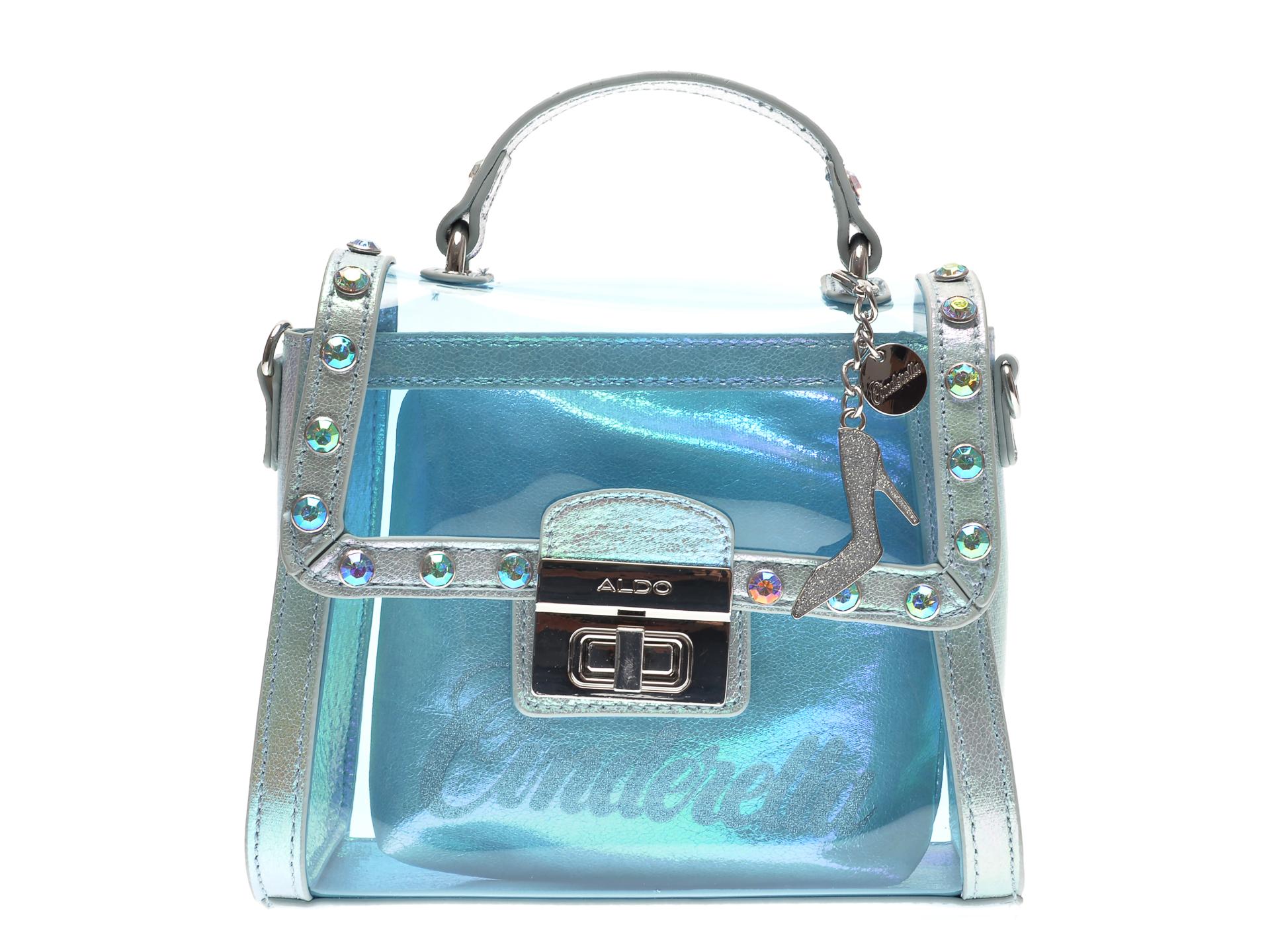 Poseta ALDO albastra, Bobbidi-Boo450, din pvc imagine