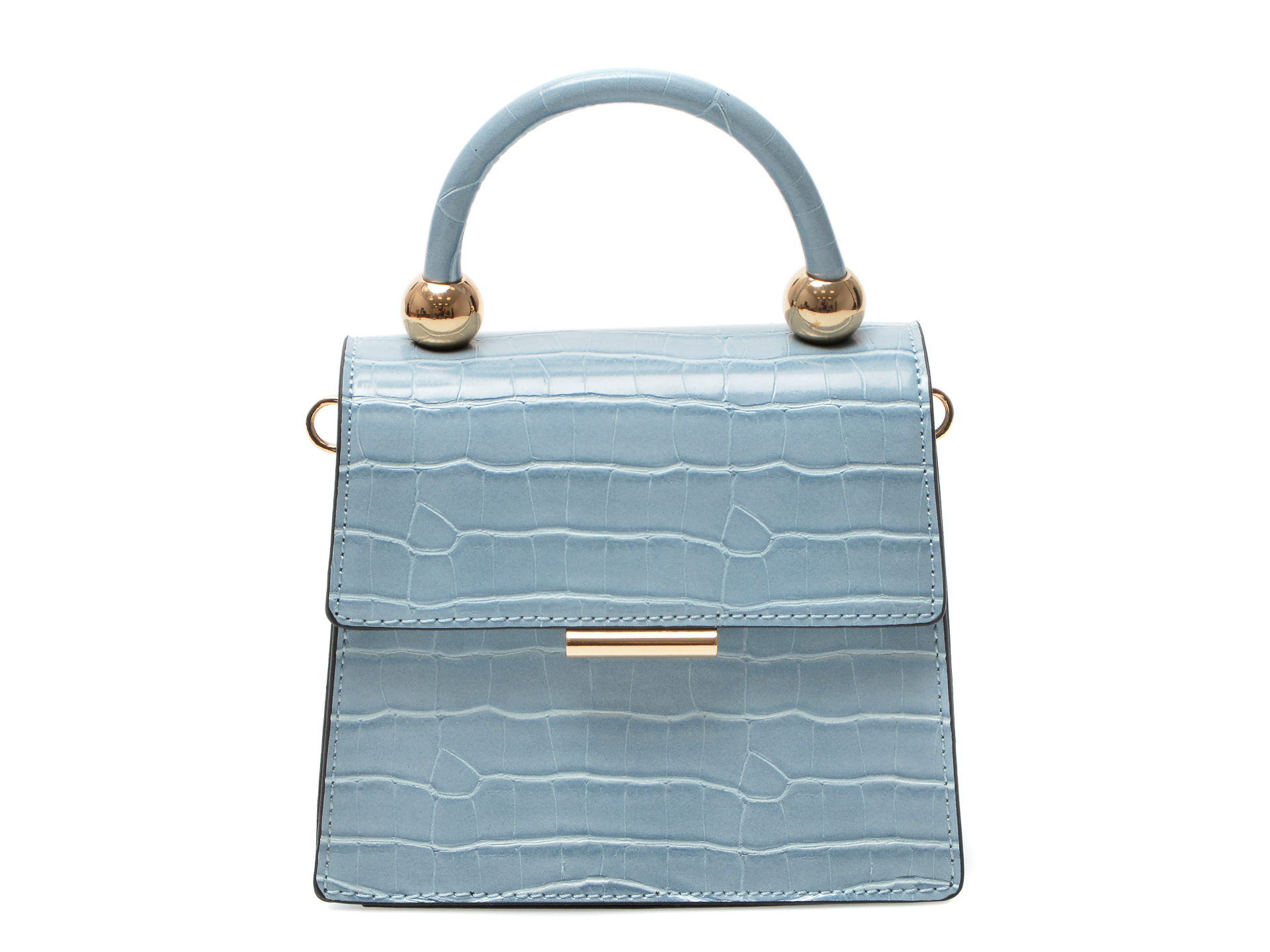 Poseta ALDO albastra, Triewiel450, din piele ecologica imagine otter.ro 2021