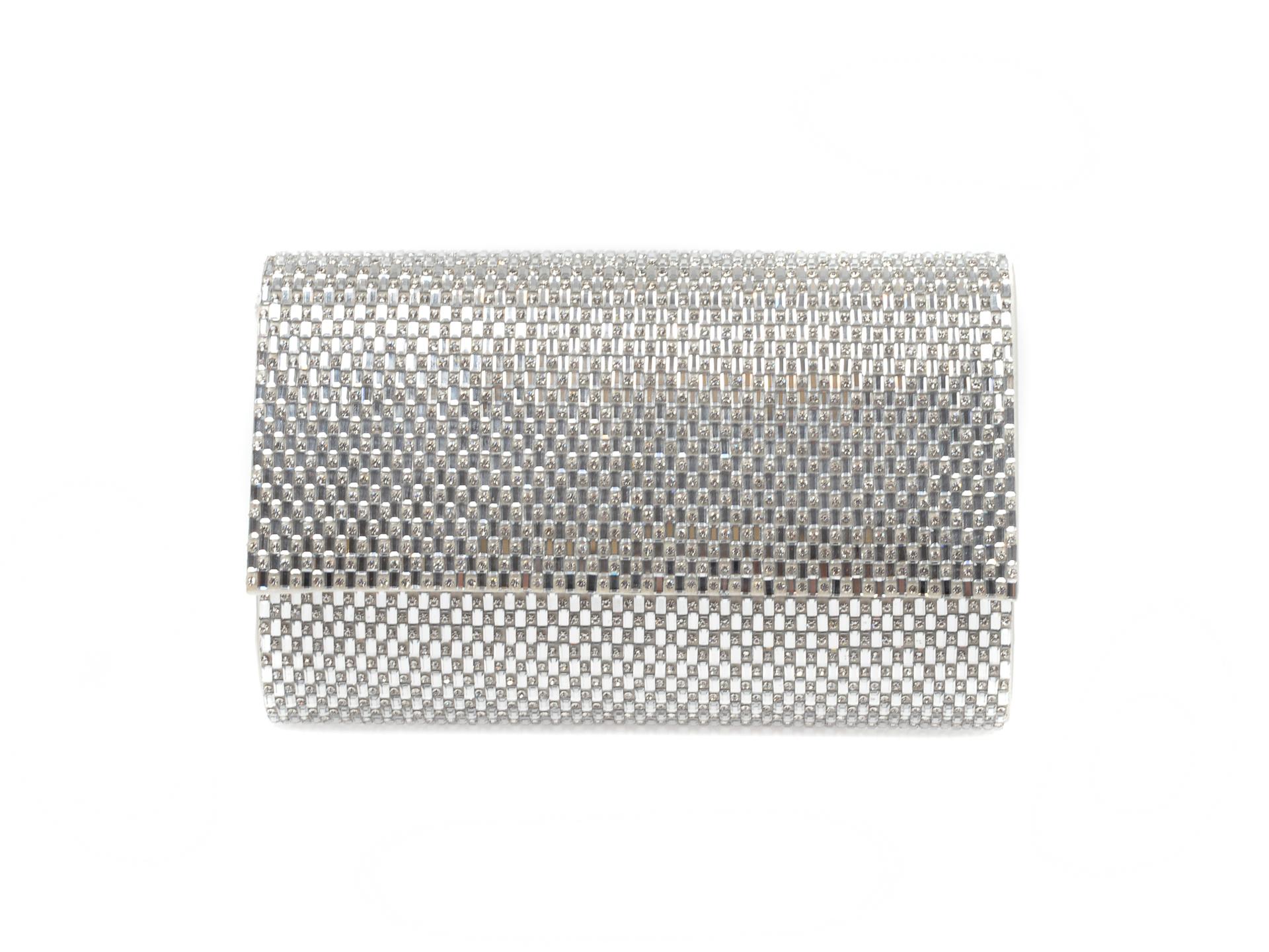 Poseta ALDO argintie, Peleaga040, din material textil New