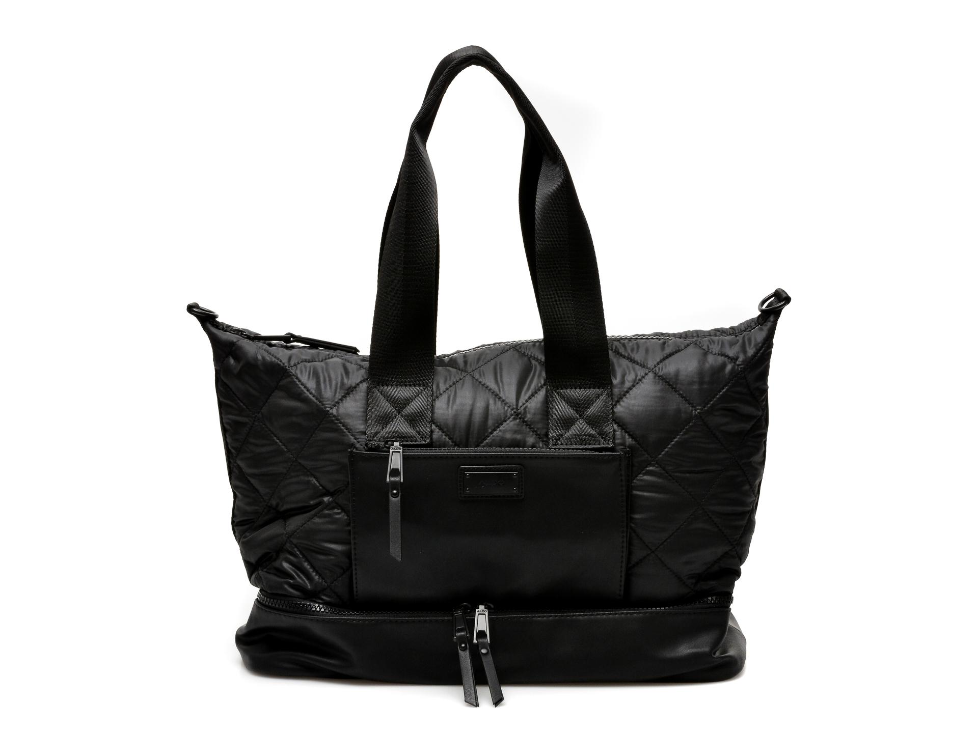 Poseta ALDO neagra, Pilini008, din material textil imagine otter.ro 2021