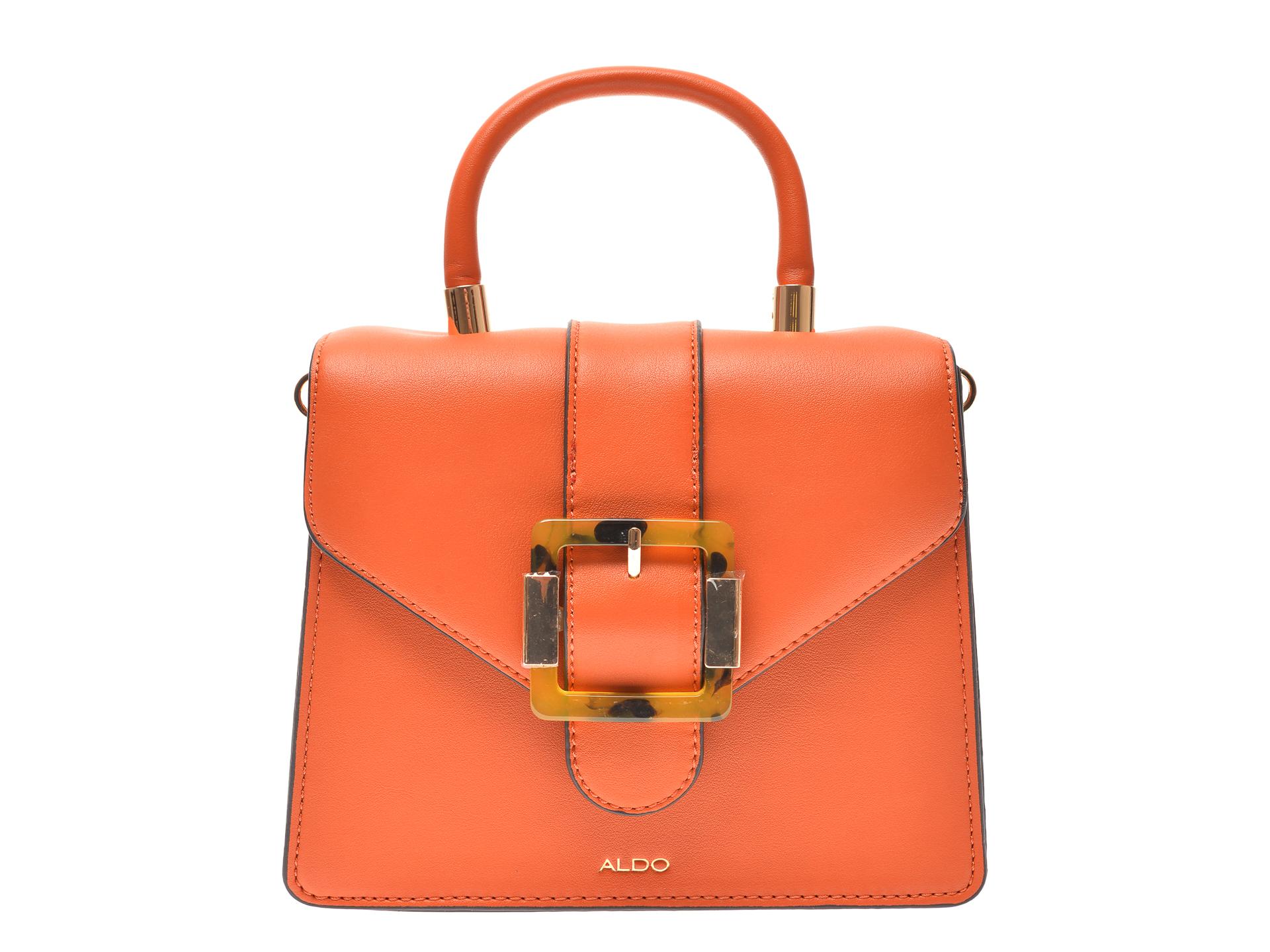 Poseta ALDO portocalie, Bertra801, din piele ecologica imagine