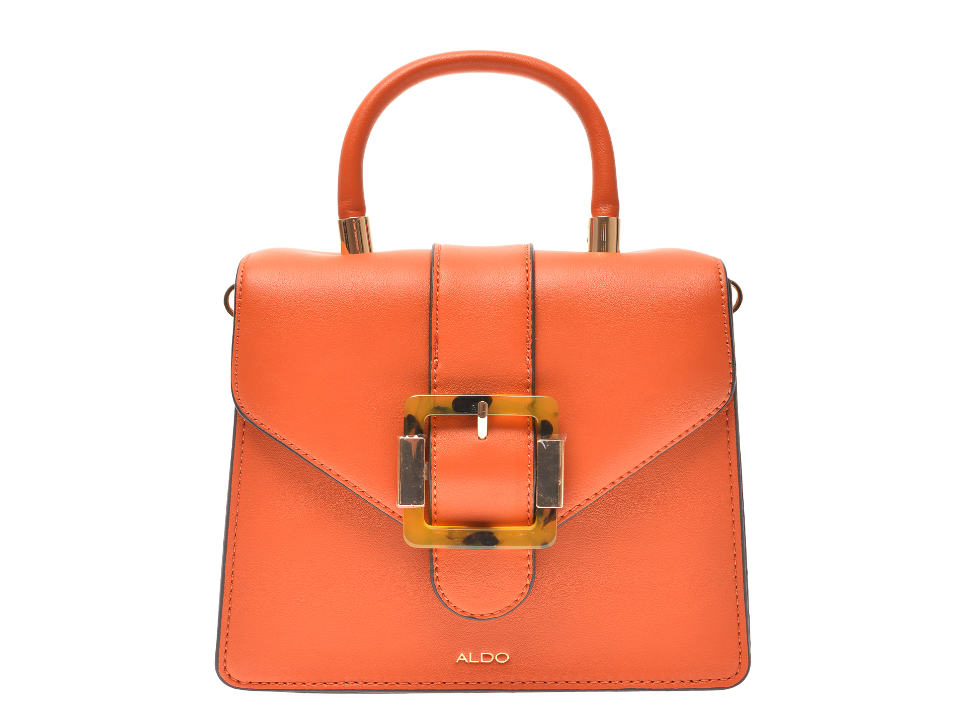 Poseta ALDO portocalie, Bertra801, din piele ecologica imagine otter.ro 2021