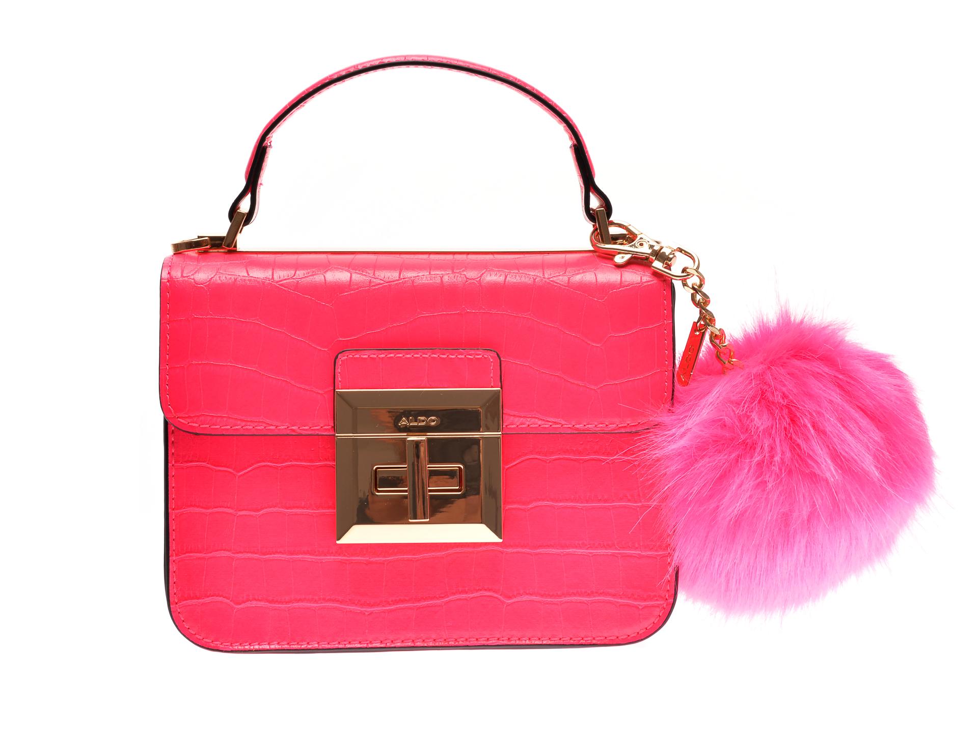 Poseta ALDO roz, Chiadda670, din piele ecologica imagine otter.ro 2021