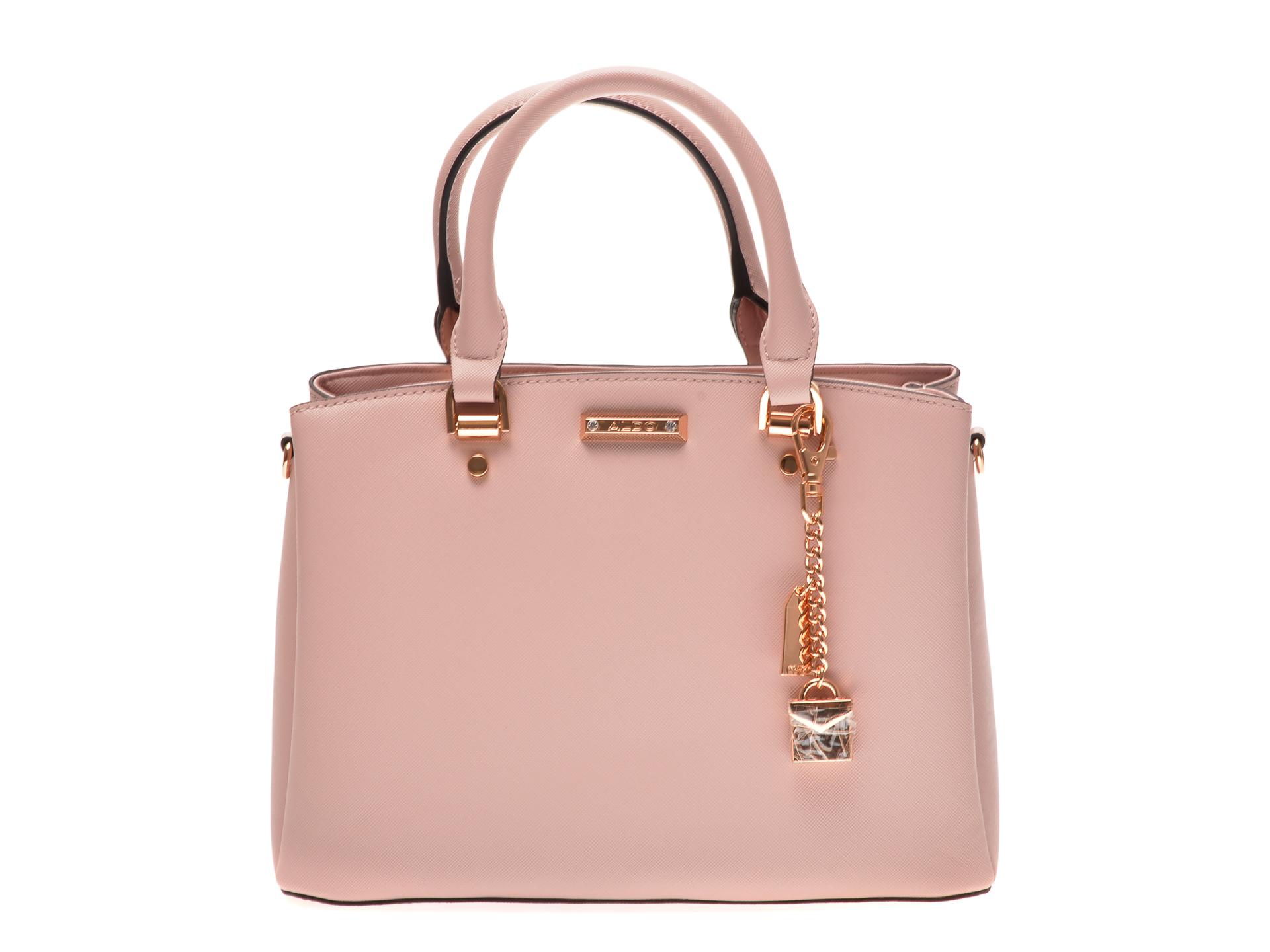 Poseta ALDO roz, Papasula680, din piele ecologica