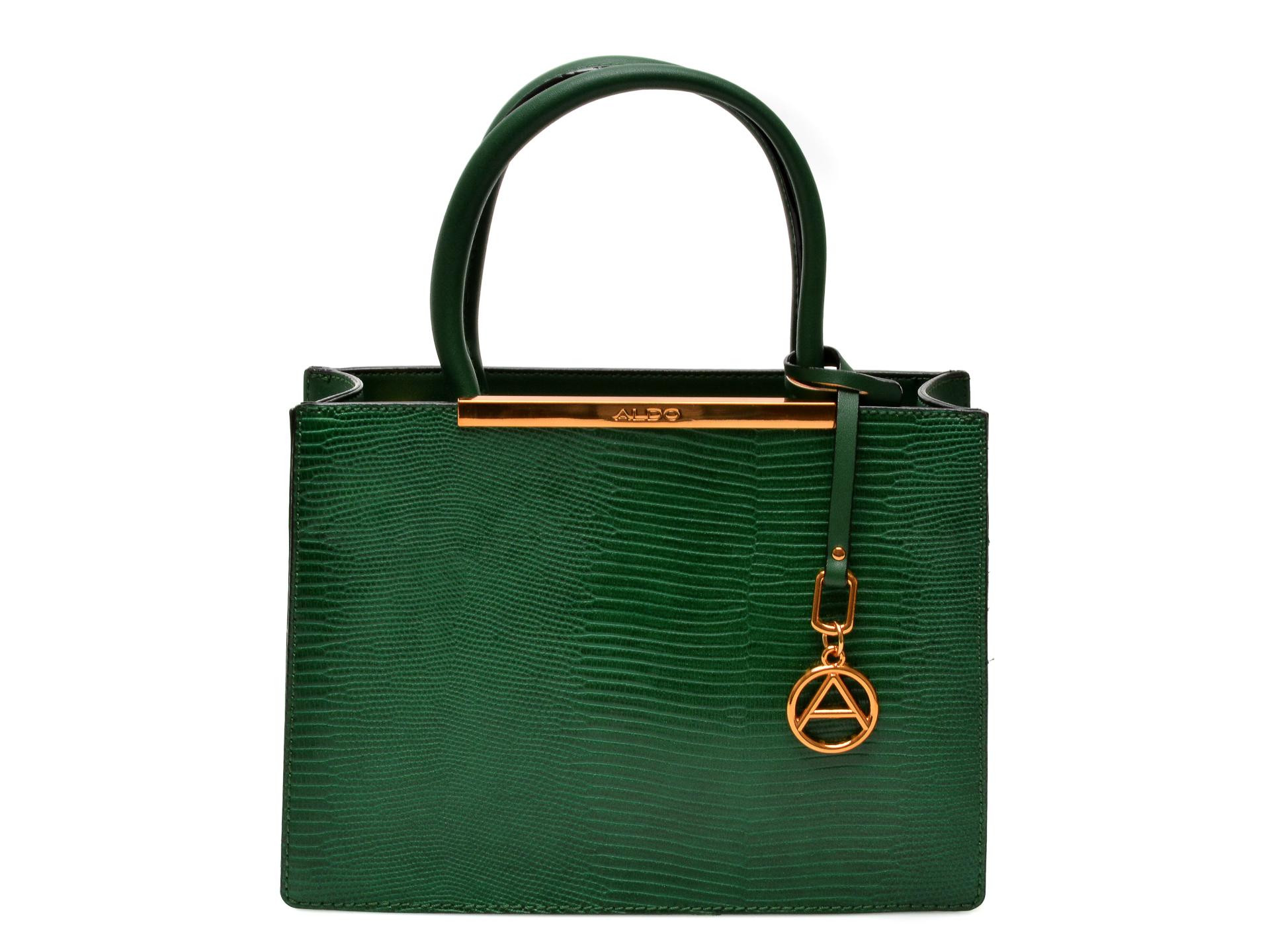 Poseta ALDO verde, 13065289, din piele ecologica imagine otter.ro